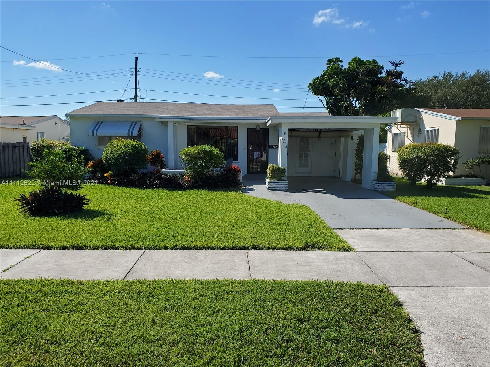 Amazing location in a well established neighborhood. This is a 3 bedroom 2 bathroom spacious home wi