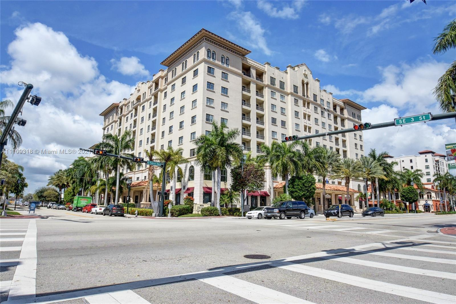 Downtown Boca at it's best.  Boca Grand.  1 bedroom on the pool deck, no units on left or right of y