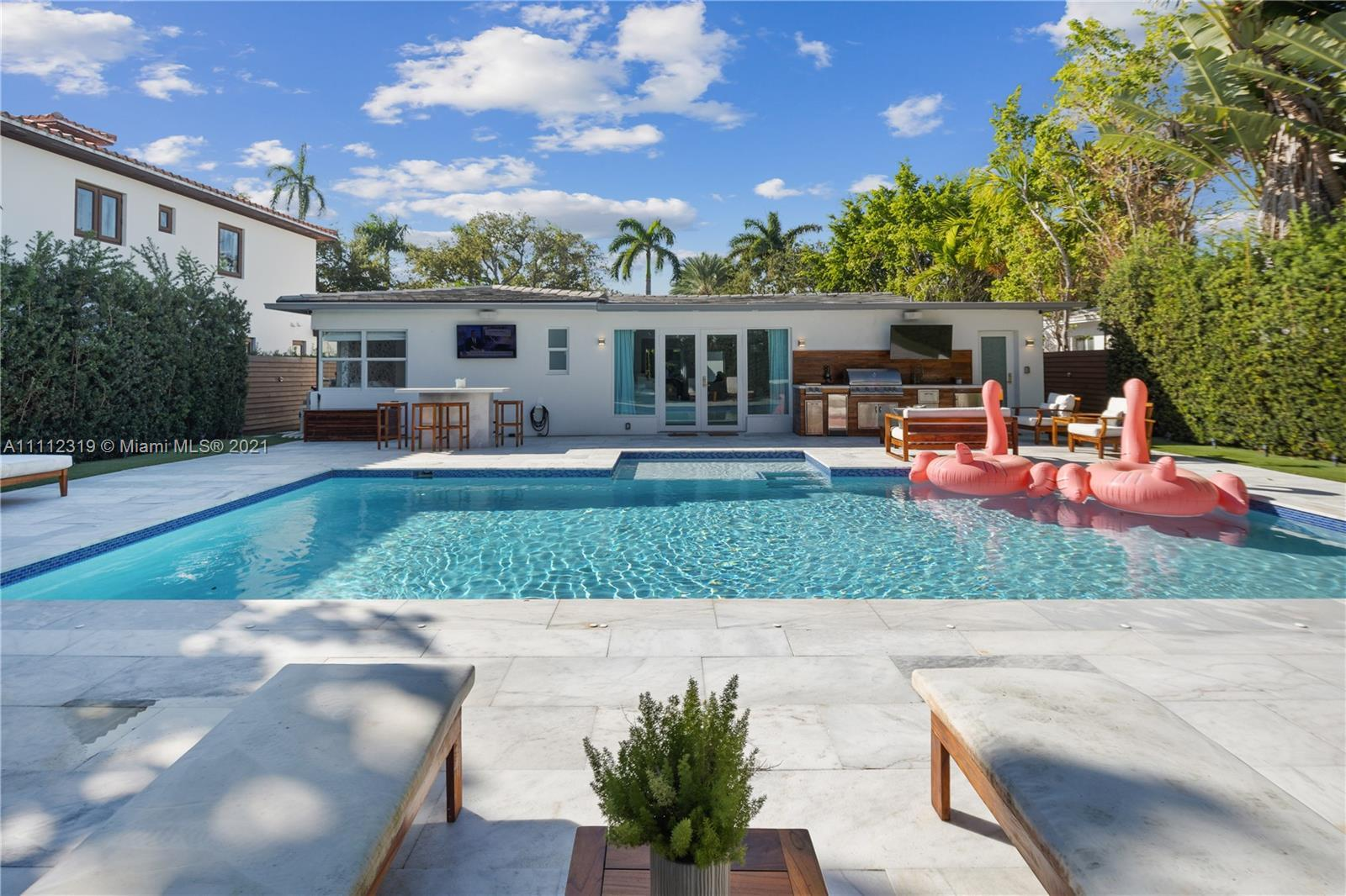 Located on the most prestigious sought after upper North Bay Rd in the heart of Miami Beach, the one