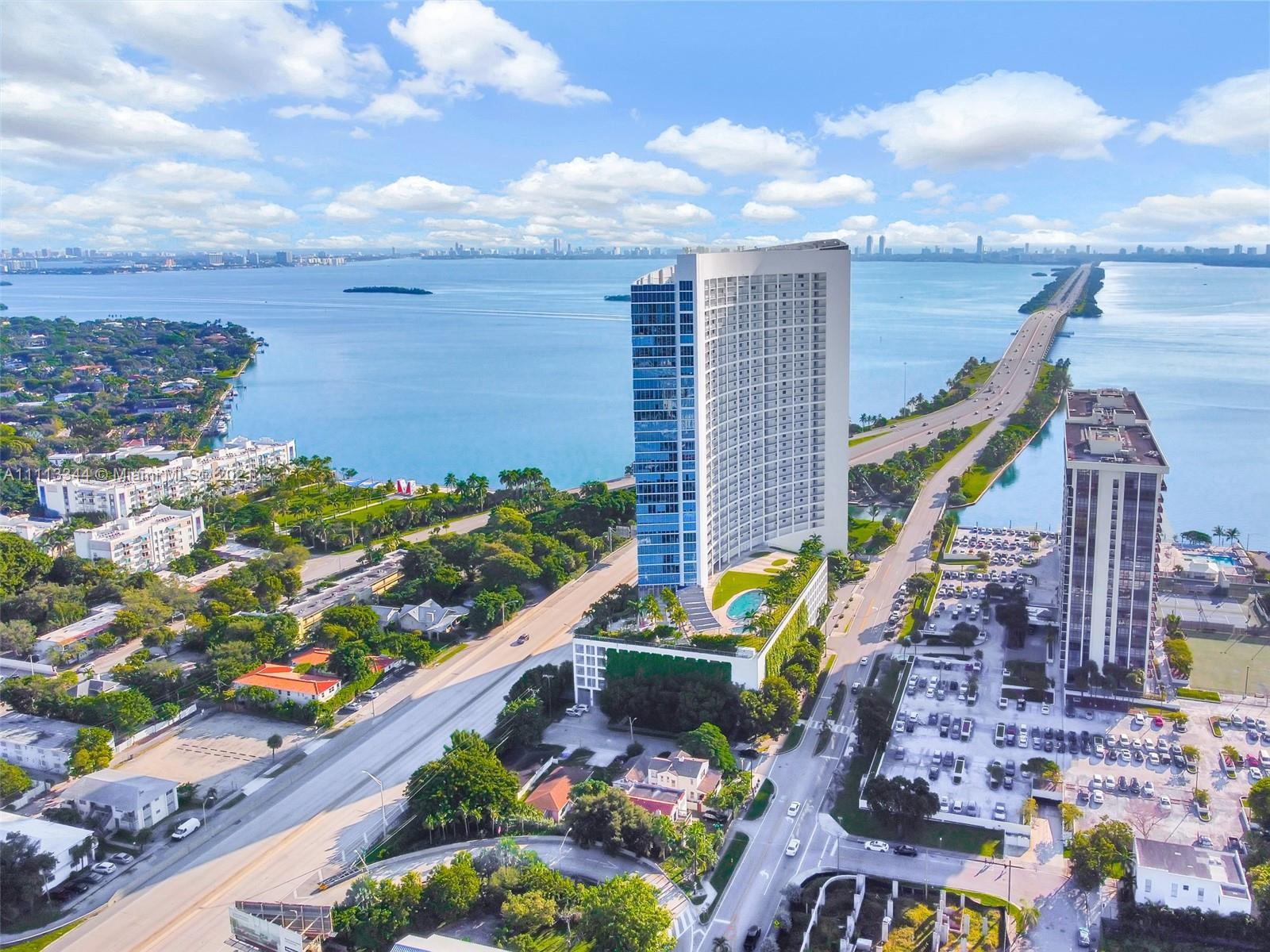 One of a kind home in the Sky! Enjoy breathtaking Views of the Bay, Miami Beach & The city from the