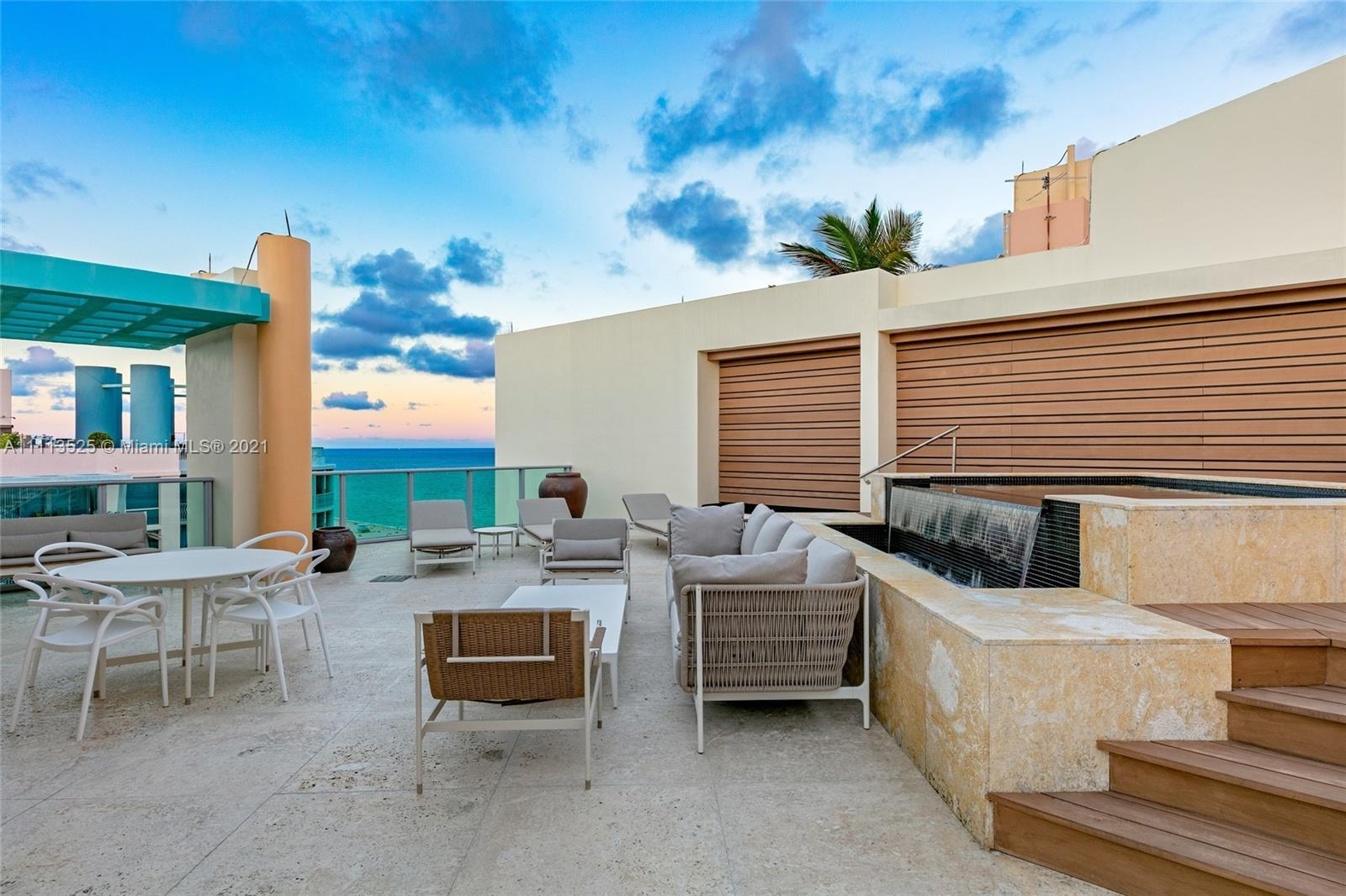 Stunning Penthouse on Iconic Ocean Drive in the Historic Art Deco District of South Beach! This 2,21