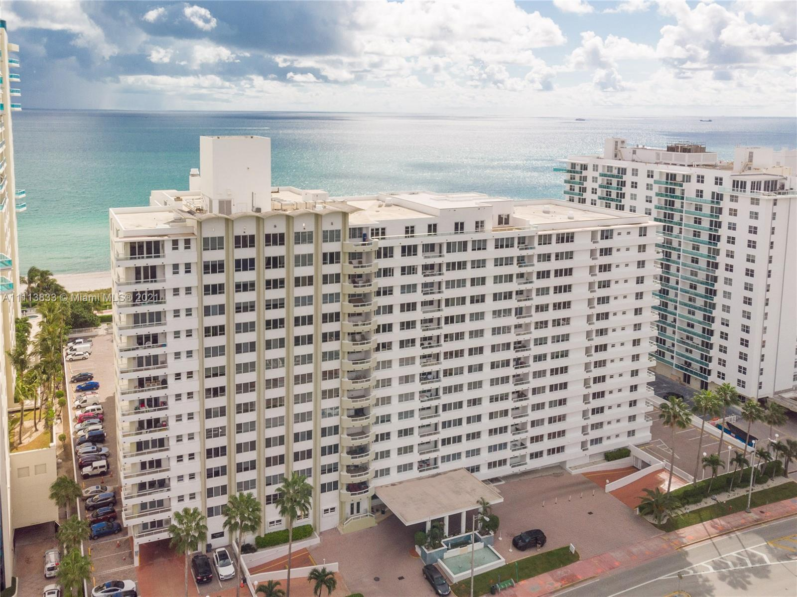 Stunning  unit in Millionaire's Row Miami Beach in Renovated Ocean Front Building. Totally redone wi