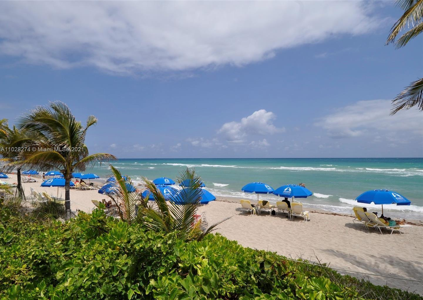 Completely remodeled split full 2 Bed 2 Bath Unit with beautiful Ocean, city and Intercoastal view.