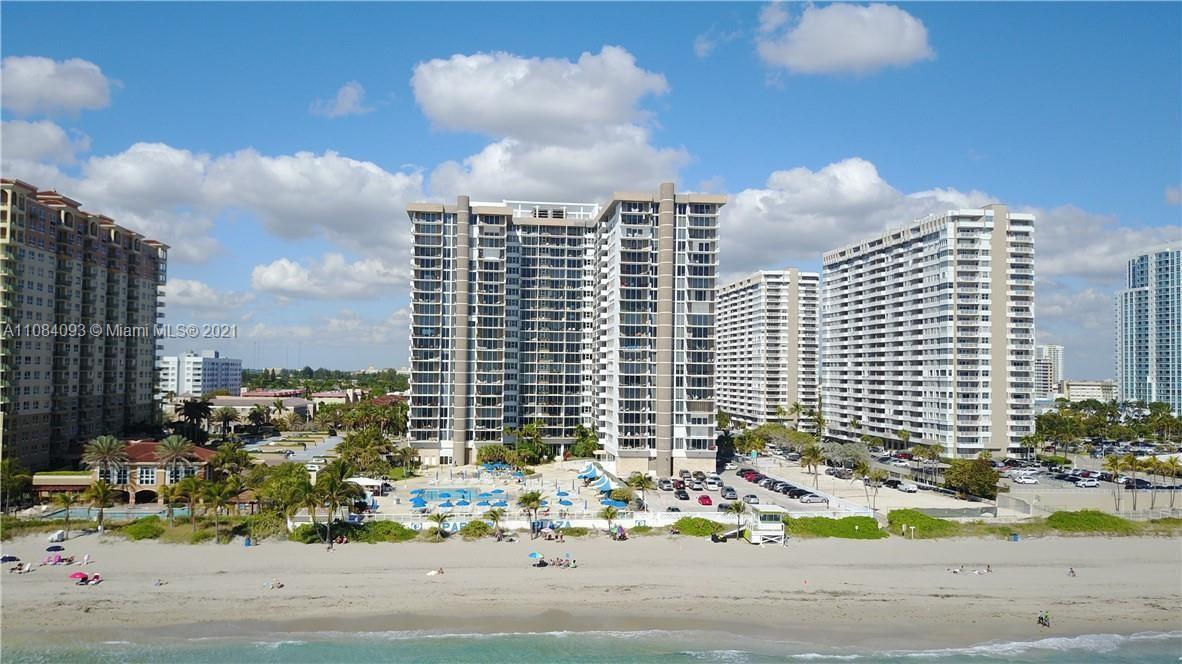 BEACHFRONT, LARGE CORNER, SUBSTANTIALLY REMODELED, 20TH FLOOR CONDO, EXTRA LARGE BALCONY with EXPANS
