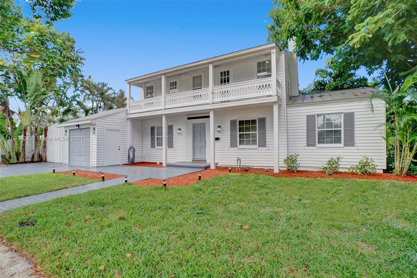 Fabulous corner home will be completely renovated and remodeled. It is one of the West Palm Beach's