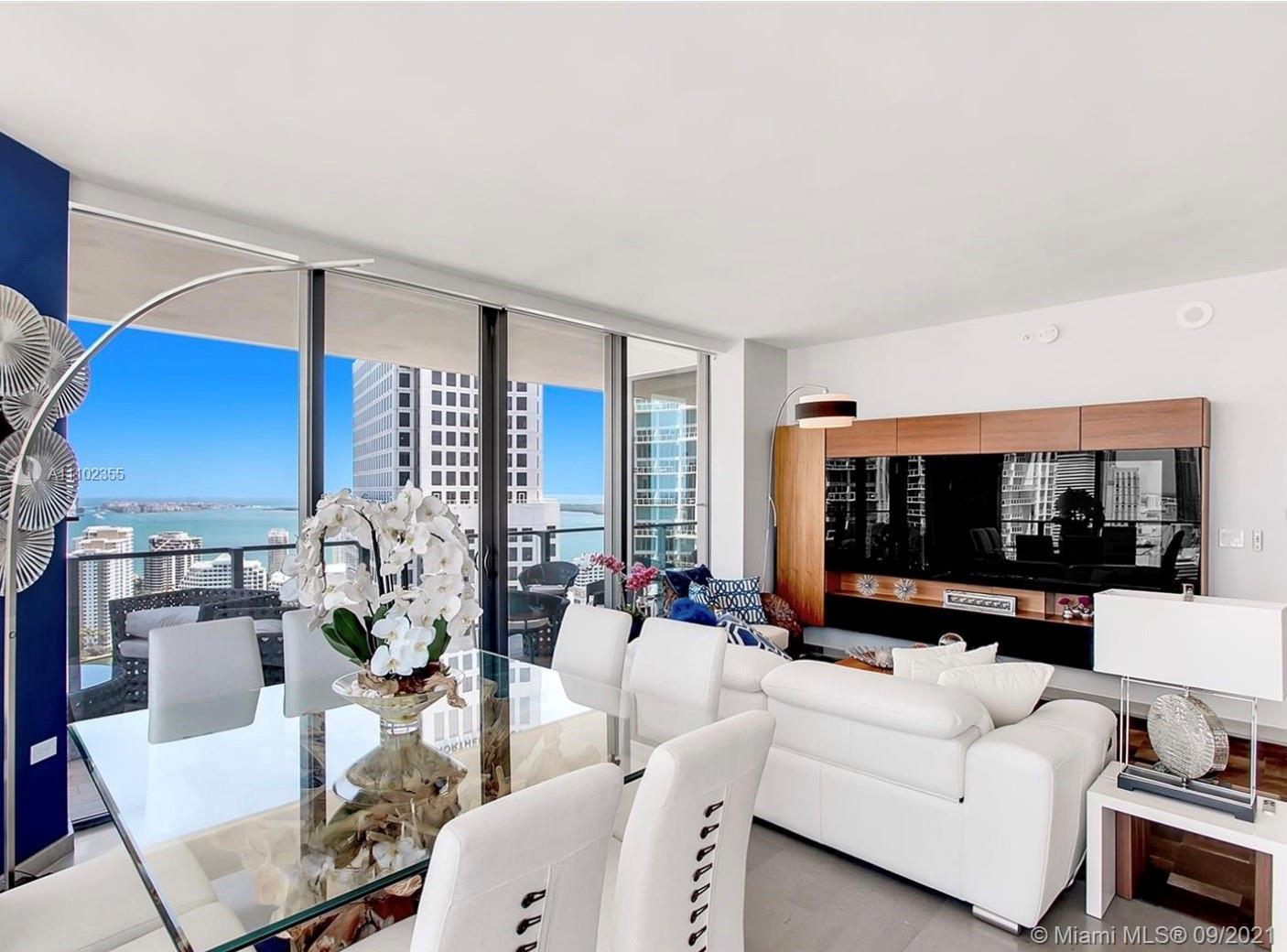 Beautiful 2 bed 2.5 bath corner unit w/ wraparound balcony, oversized bedroom and en-suite baths, go