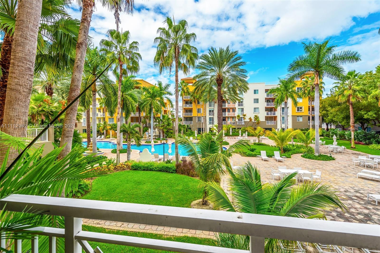 This beautiful 2nd floor 2-bed, 2-bath boasts a beautiful yet functional layout & stunning views ove