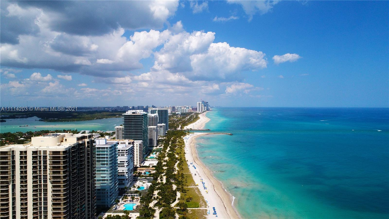 MAGNIFICENT OCEANFRONT CONDO IN BAL HARBOR AREA, STEPS AWAY FROM THE RENOUND BAL HARBOR MALL, VENETI