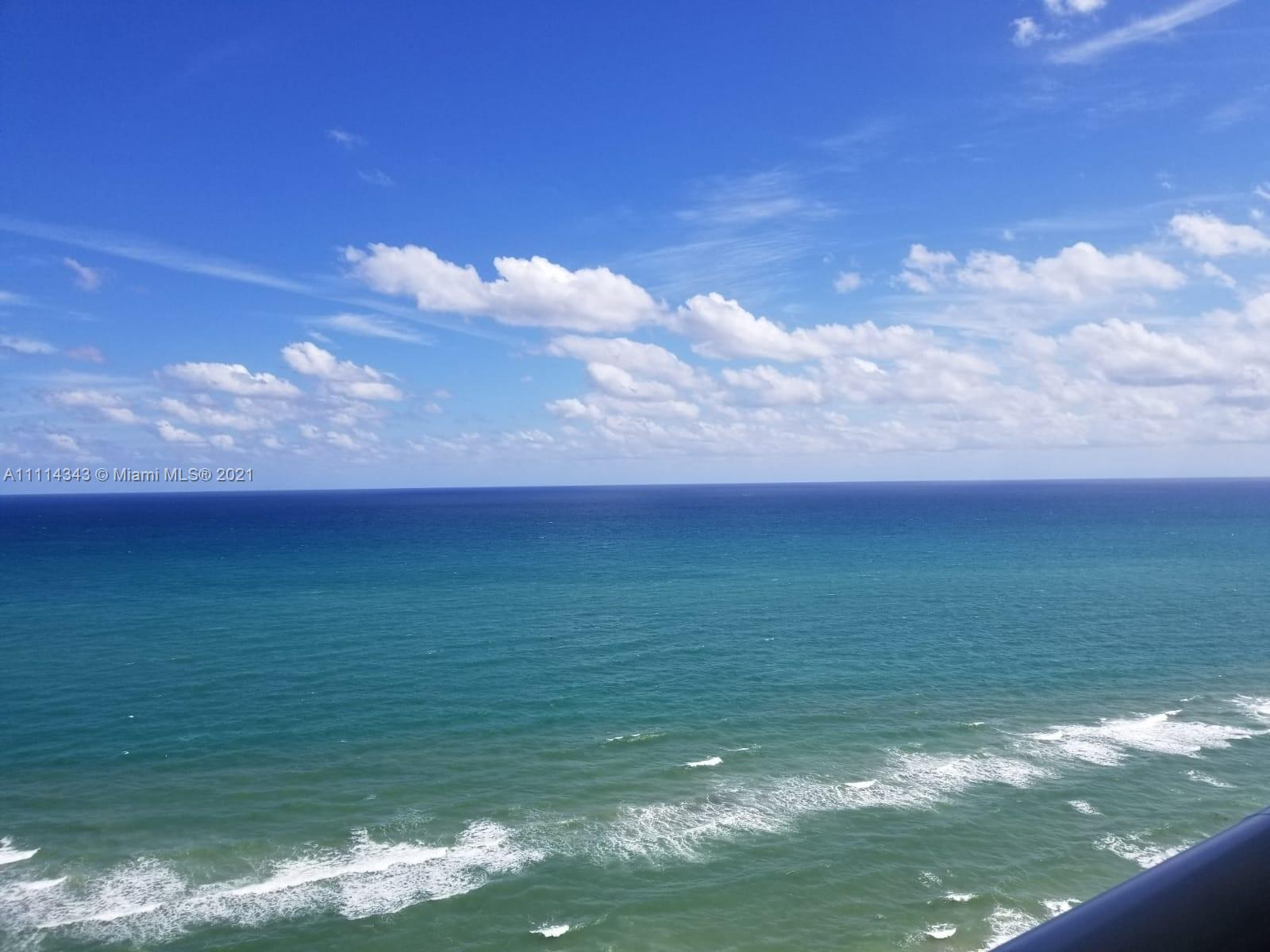 BEAUTIFUL UNIT WITH UNOBSTRUCTED AND BREATHTAKING DIRECT OCEAN VIEW FROM THE 25TH FLOOR. THREE BEDRO