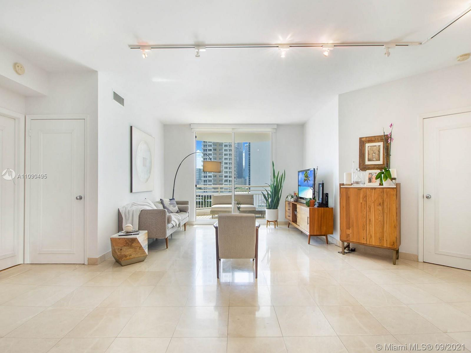 Located directly on Biscayne Bay this smart investment opportunity is in One Tequesta Point on the e