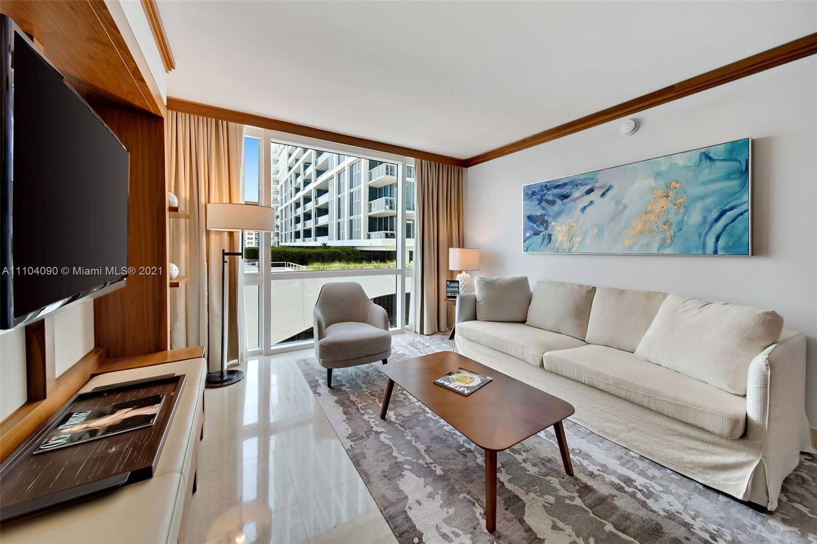 Fabulous designer turn-key 2 bedroom, 2 bathroom split floor plan at the exclusive Carillon Wellness