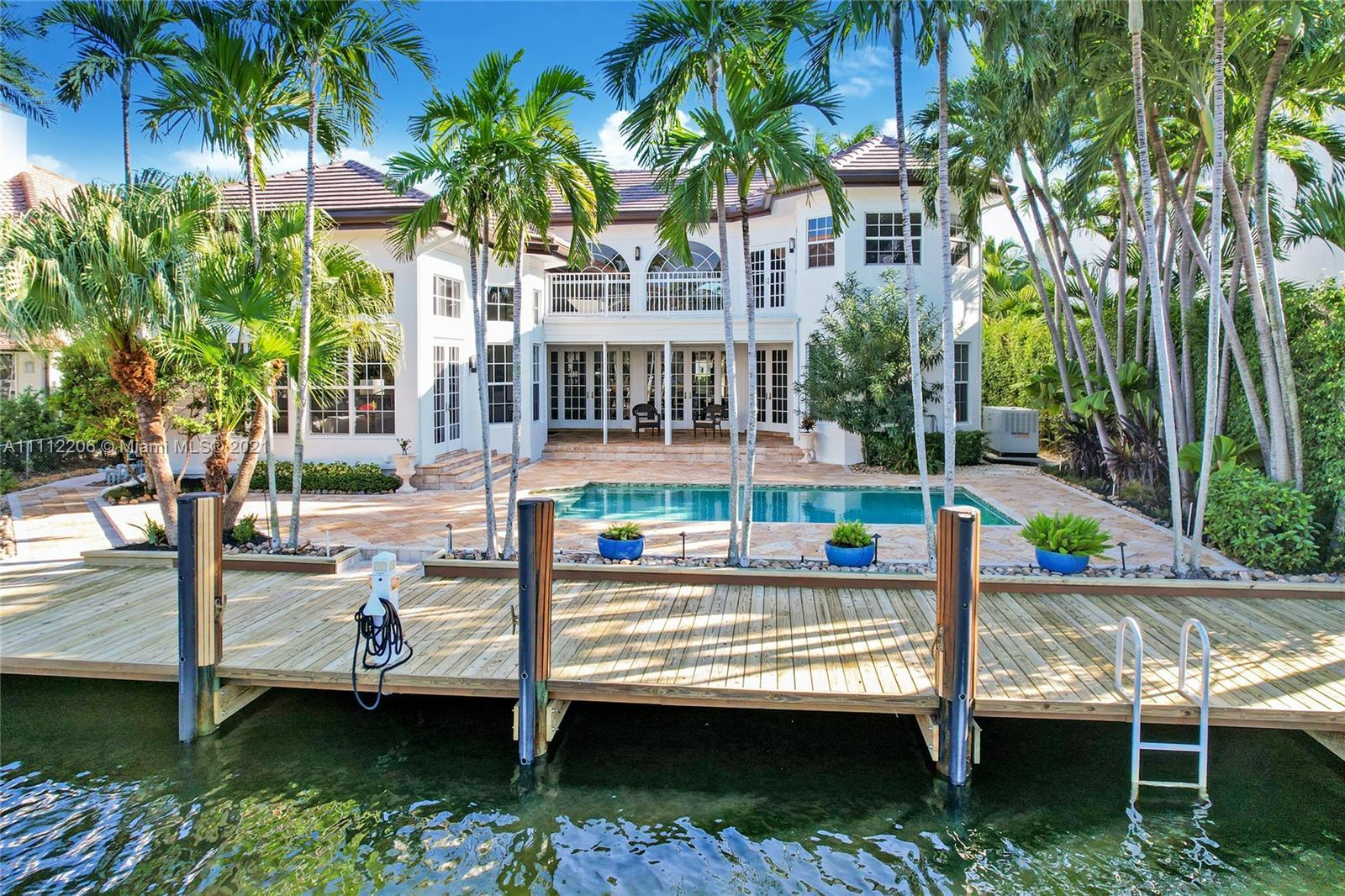 The best value in Seven Isles/Las Olas for a meticulously maintained custom home with 76' on the wat
