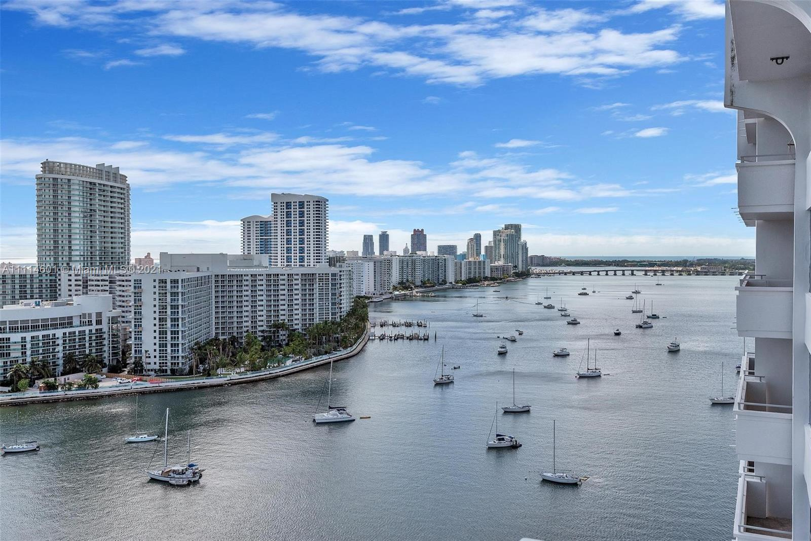 Views, value and location! Not only the best priced 2/2 on Belle Isle - this 20th floor unit has bay