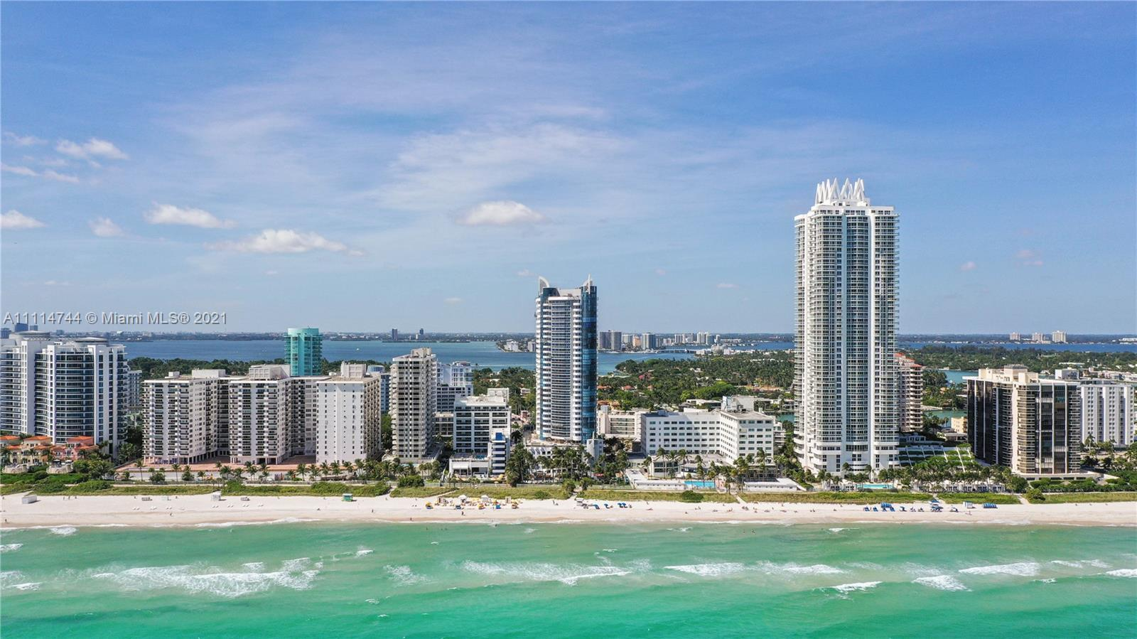 Wake up relaxed and happy  in Your Luxury Ocean Front property on Miami Beach.  Located at a famous
