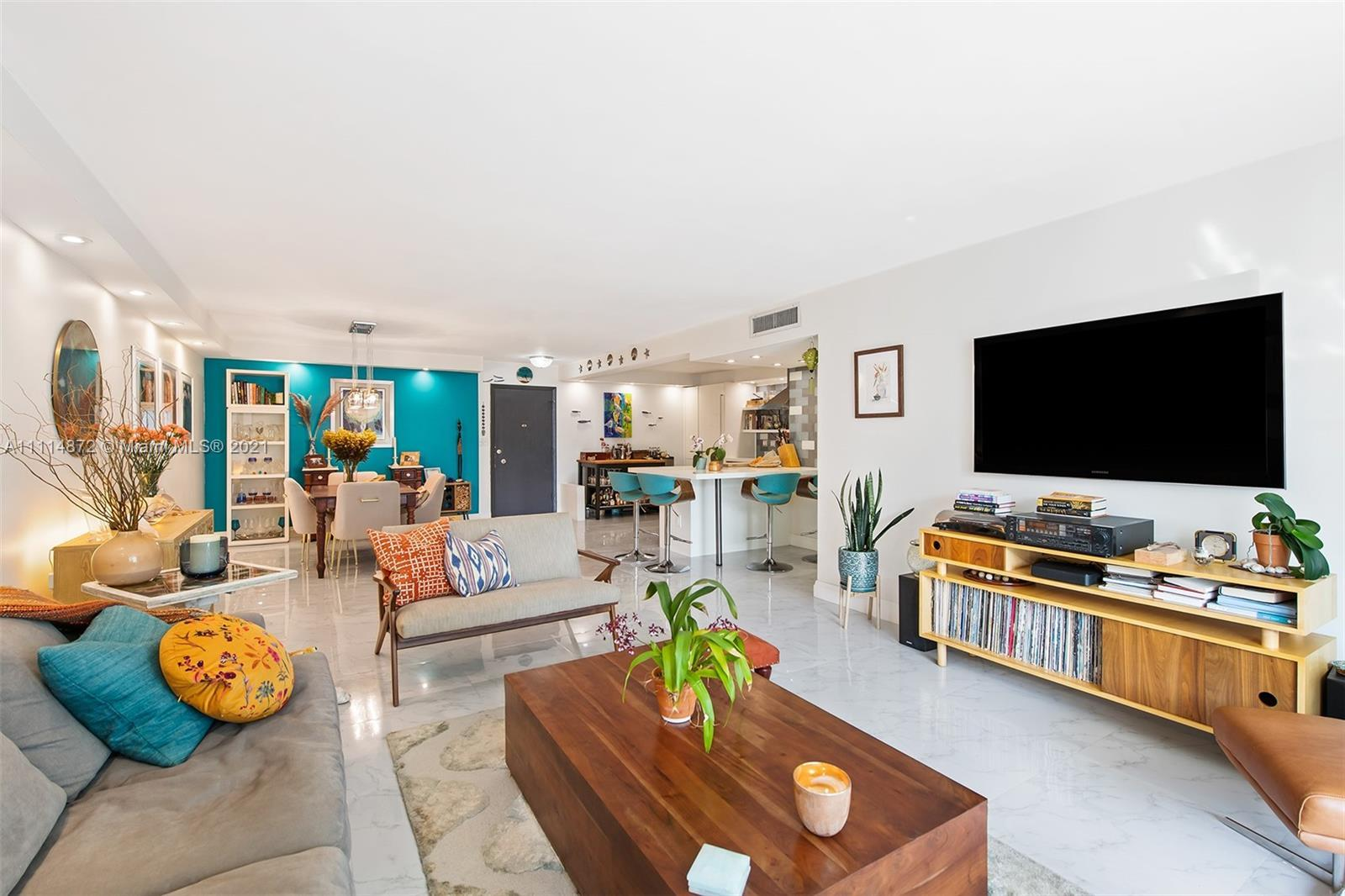 Welcome to your slice of paradise on Hollywood Beach! This incredibly spacious 2 bedroom / 2 bathroo