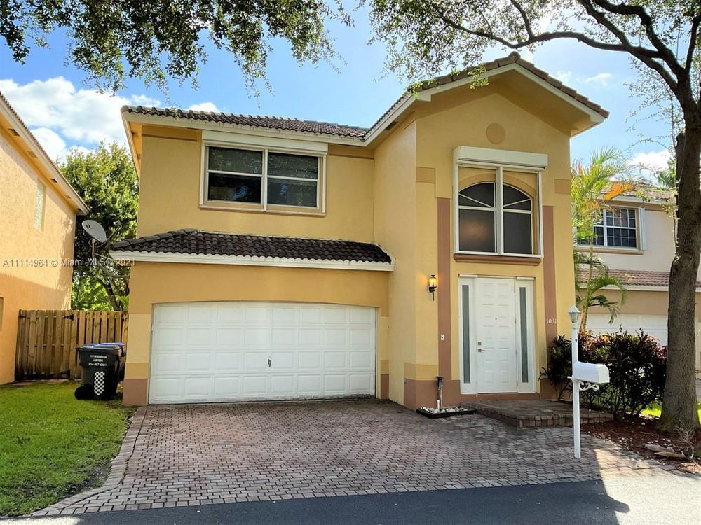 Photos coming soon. This 3 bedroom, 2.5 bathroom waterfront home welcomes you with its bright stucco