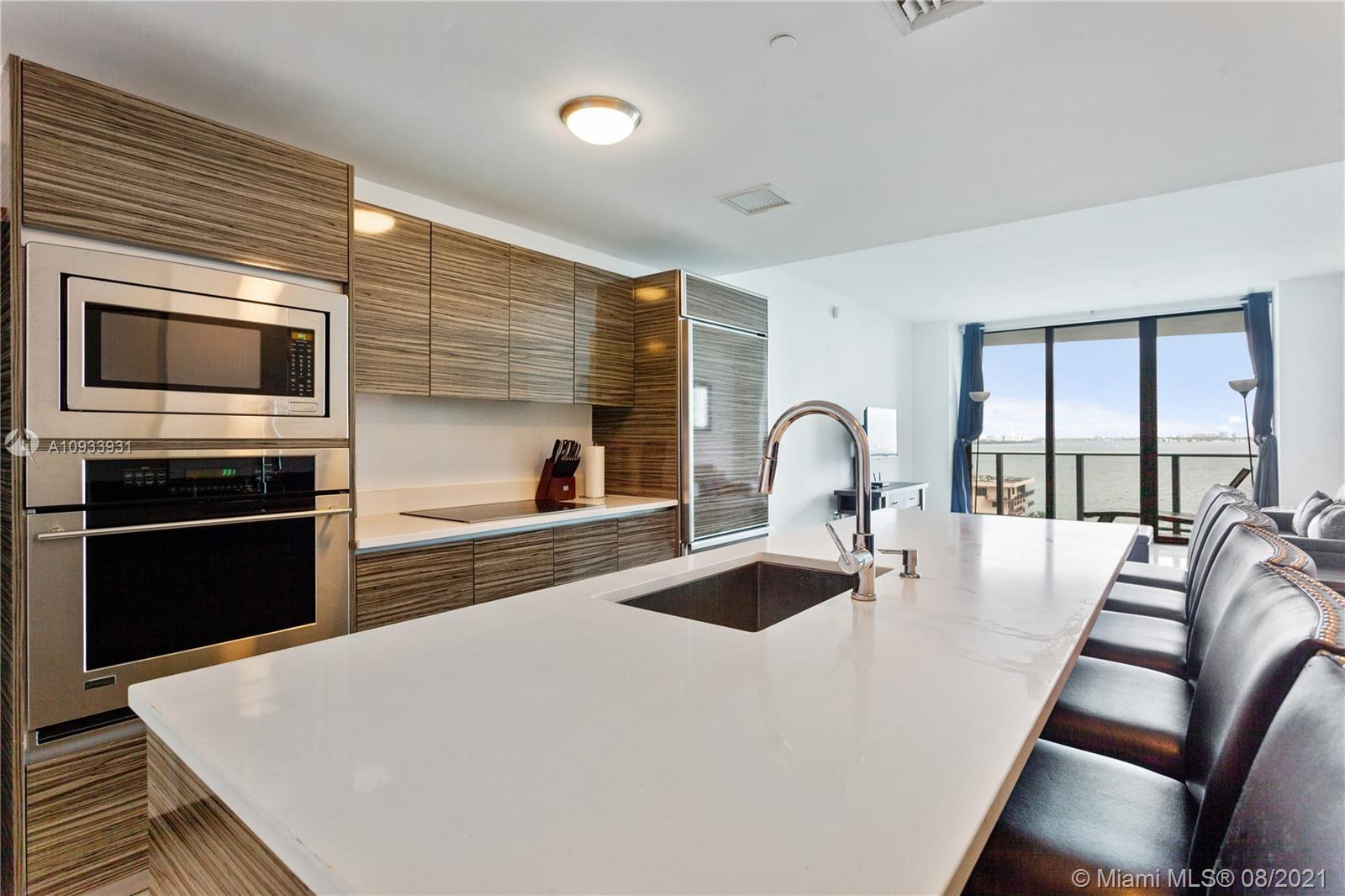 Spectacular Water Views from every angle of this Freshly Painted One Bedroom & 1.5 Bathroom Condo at