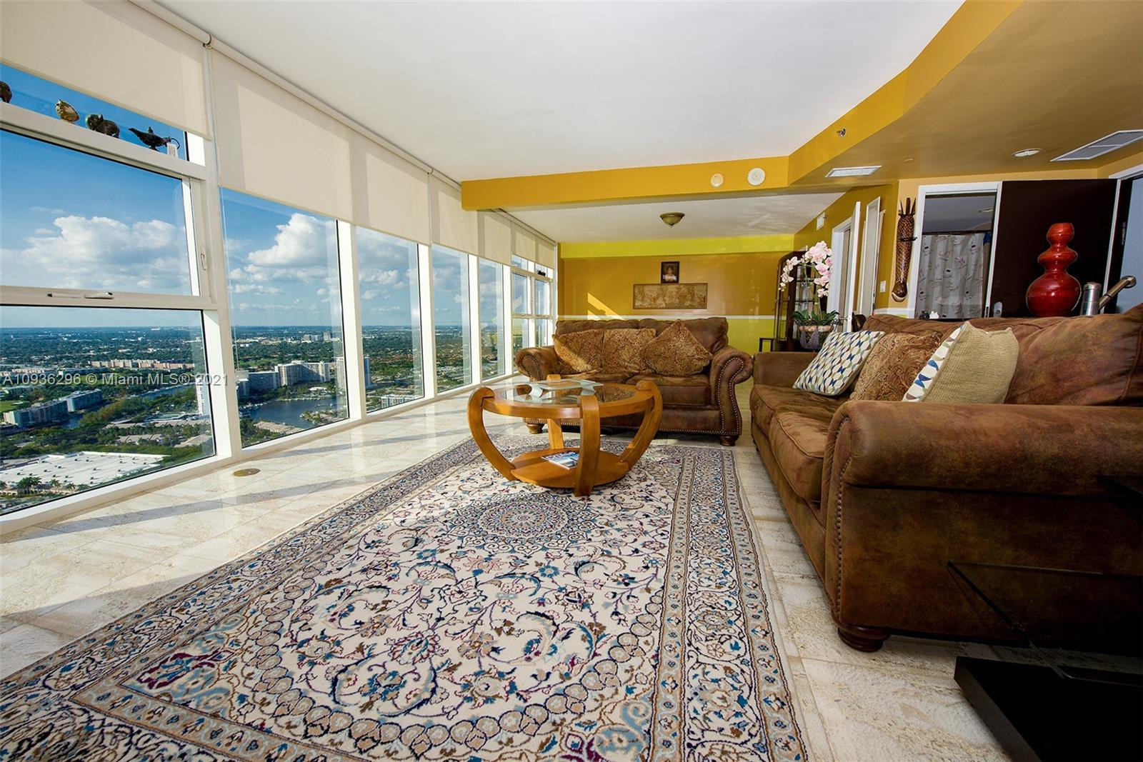 Penthouse with High Ceiling  * Furnished    * Marble Floors All Throughout  * High 12 Feet Ceiling