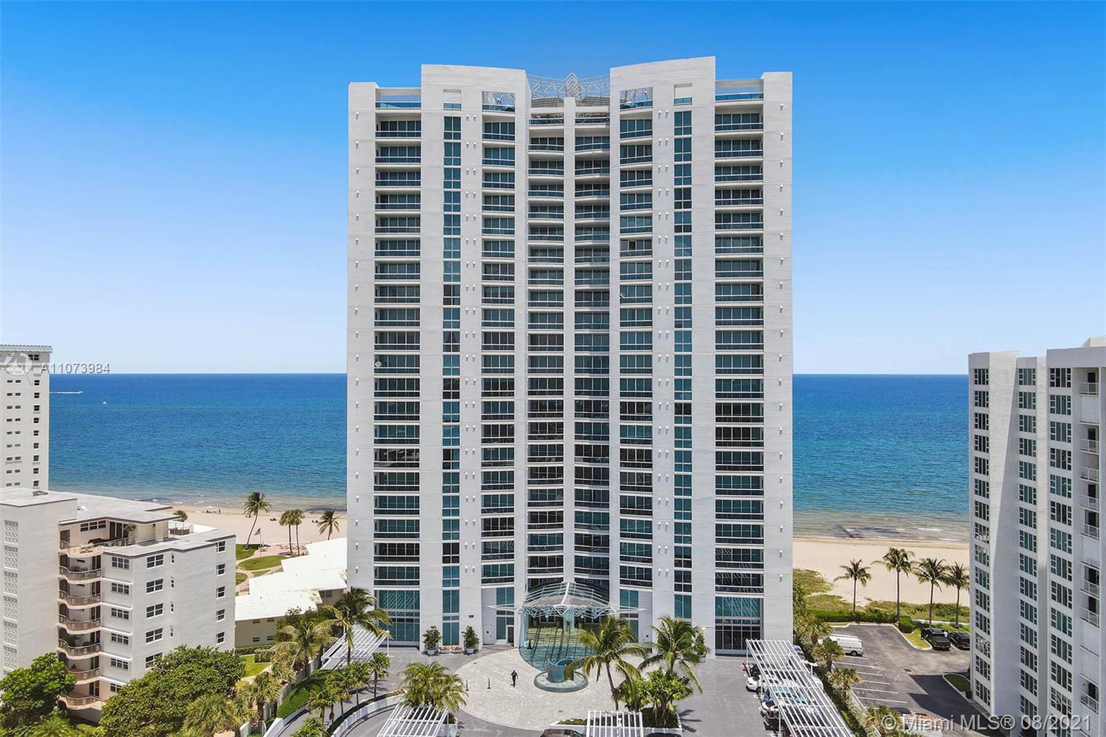 Spectacular beachfront condo with breathtaking ocean views in prestigious Aquazul. Exit your secure