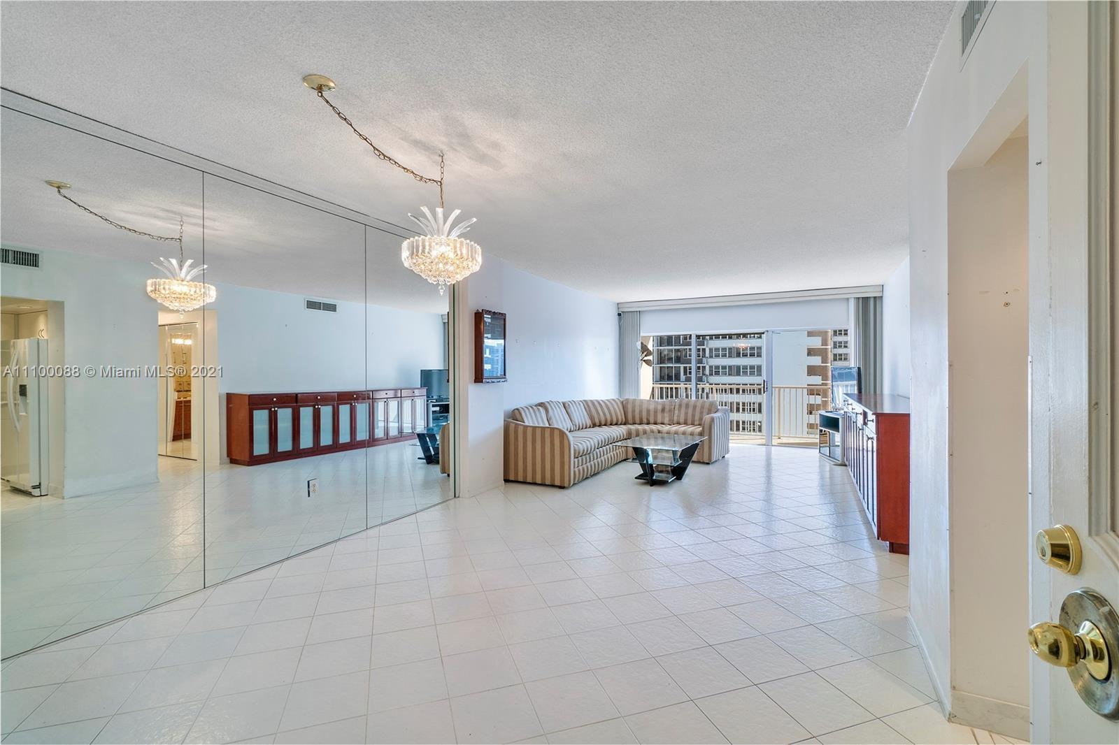 City, Intracoastal and ocean views await you at this rarely available, South facing and light filled