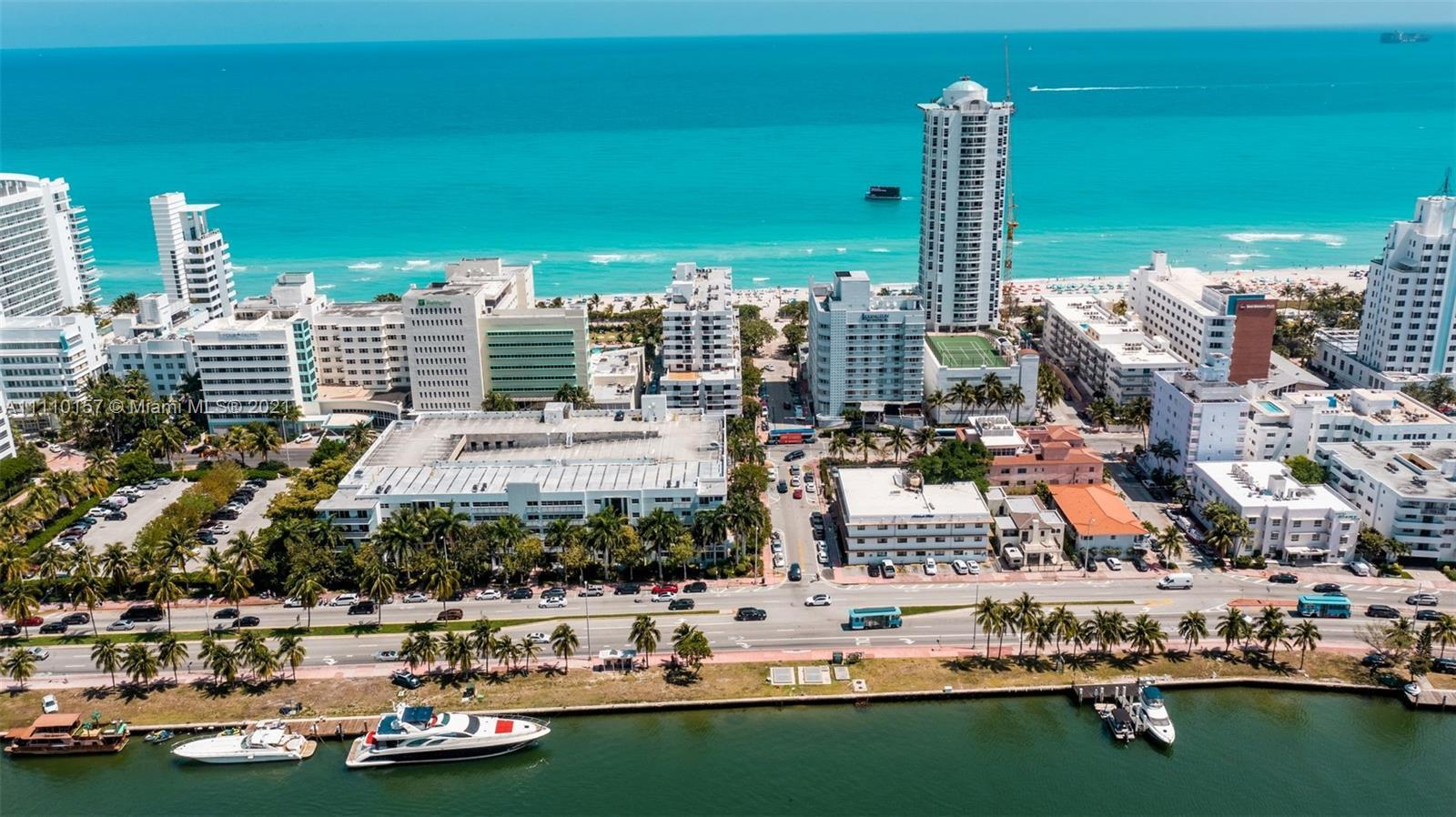 Sunlit beachfront condo for sale in the Vendome offering a spacious balcony with an ocean view. Func