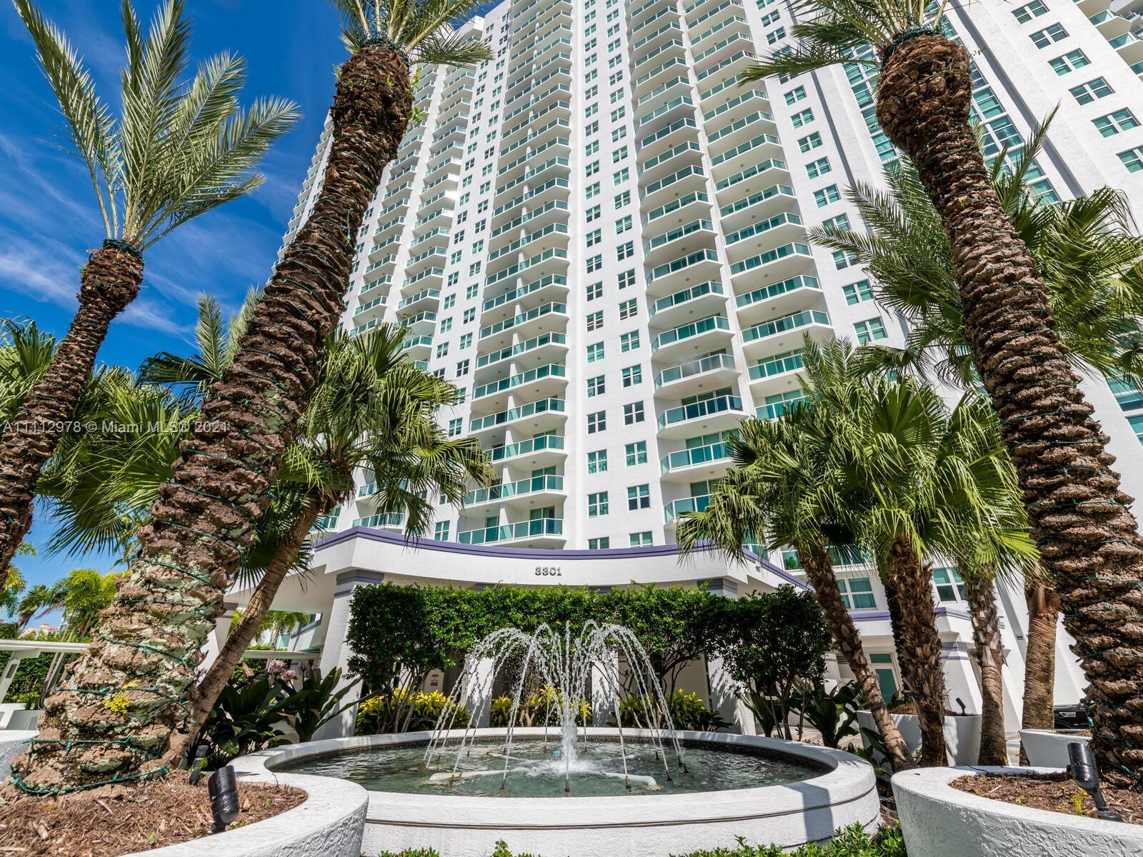 Totally upgraded  Corner unit. Great views of the ocean, intracoastal and city. Three over sized bal