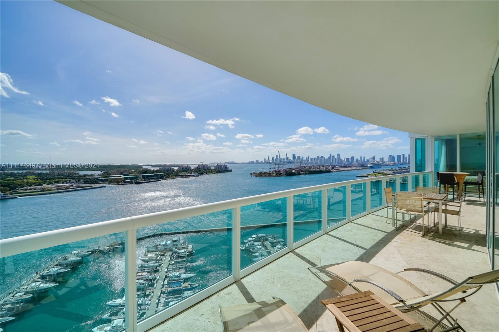 """Live in the coveted """"02"""" line at Murano Portofino, located South of Fifth, Miami Beach's most presti"""