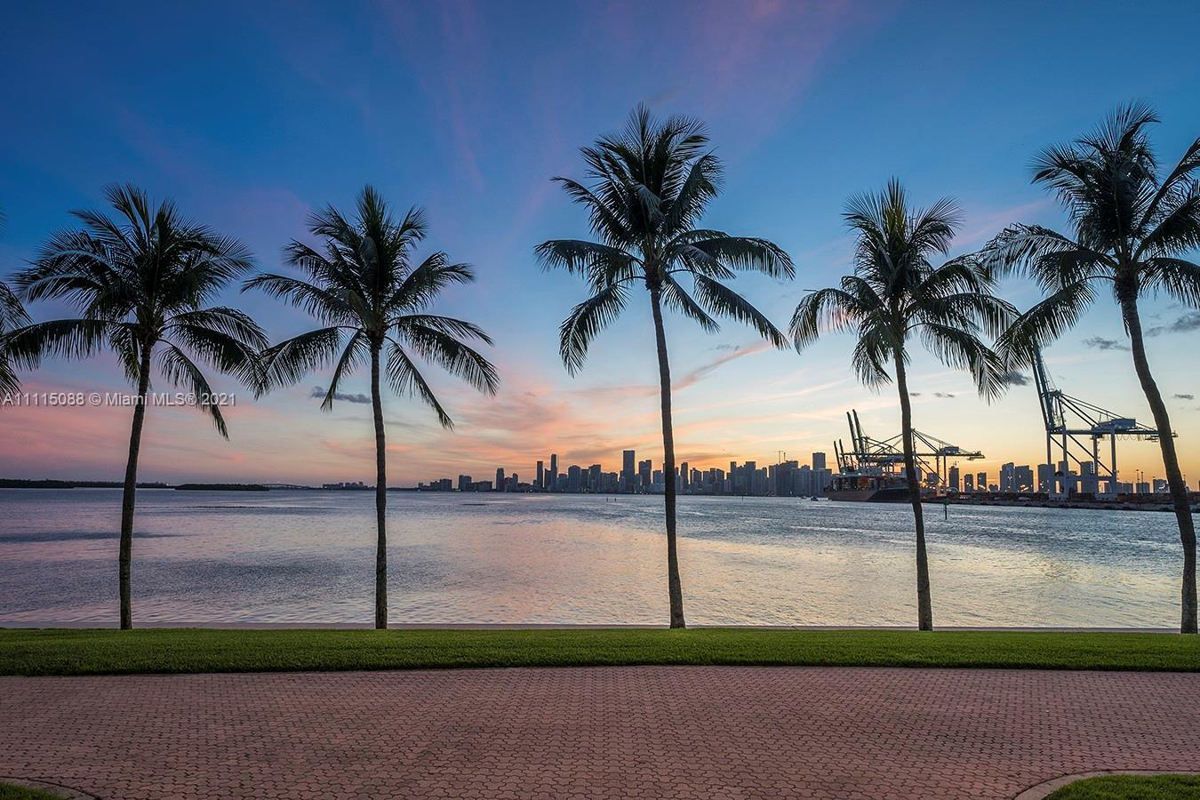 Rare opportunity now available absolutely spectacular luxury Fisher Island ground floor can finally