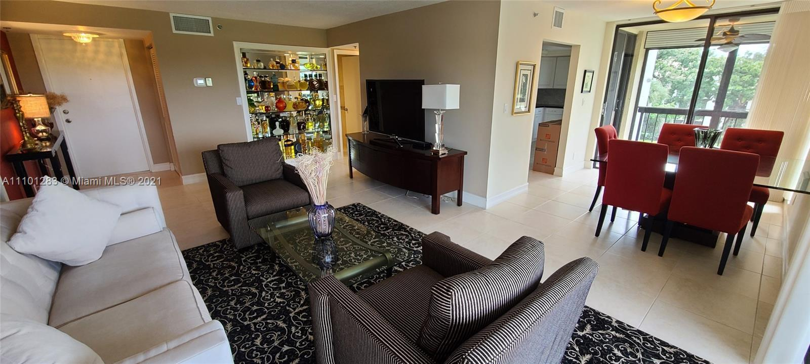 Fabulous opportunity to live in Boca West country club community. Beautiful 2 bedroom 2 bathroom cor