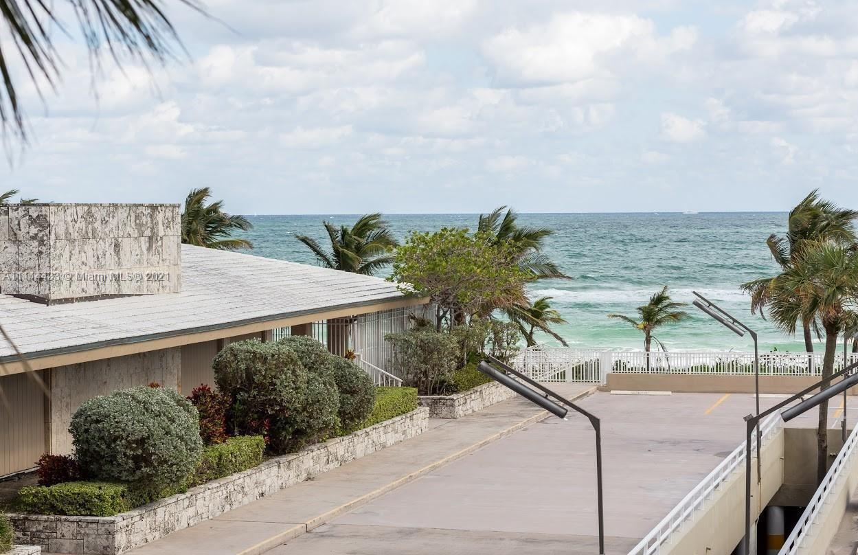 Oceanfront North/East corner unit in the first line building. Nicely remodeled 2Bdr / 2 Bath unit is