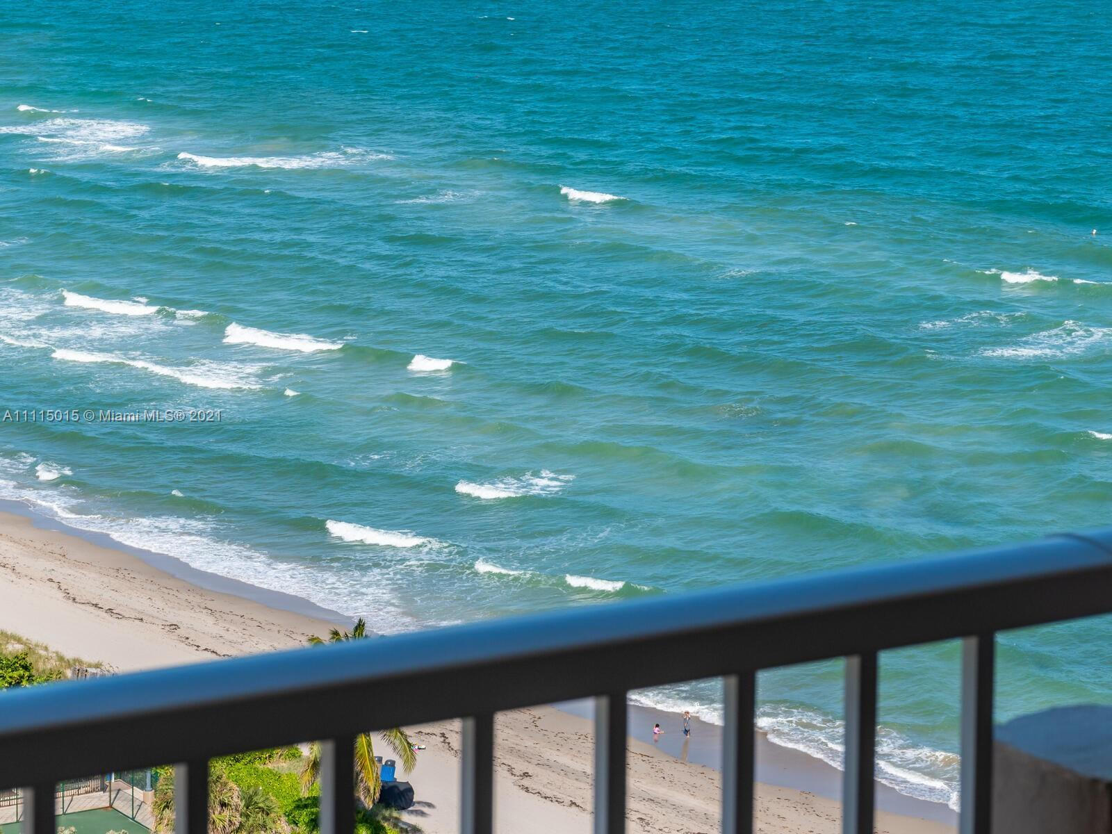 1 Br 1.5 Bath Upgraded, High Floor Unit on the Ocean. (Ocean North the most desirable, closest to th