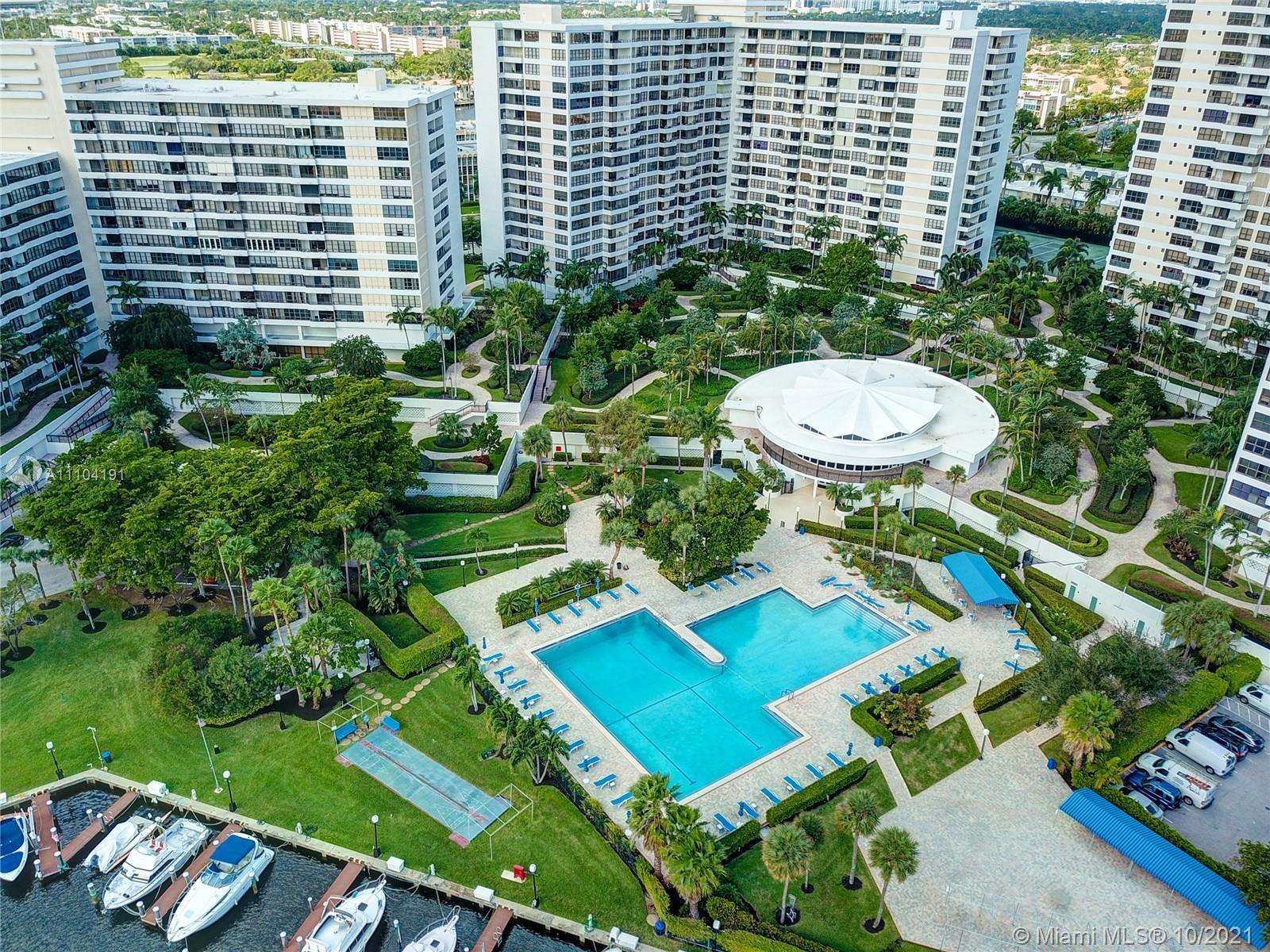 Gorgeous Large Corner Unit with Intarcostal and Pool Views At Resort Style One and Only Olympus towe
