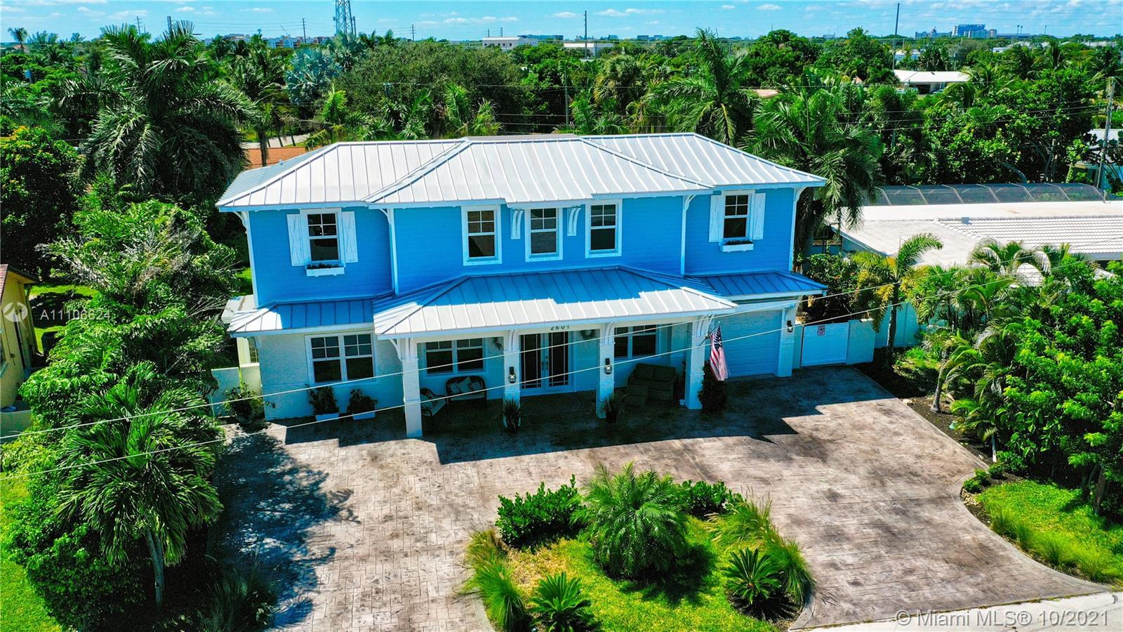 Custom Key West Style 2 story home with Garage. Highly Upgraded & expanded with new 2nd floor in 201