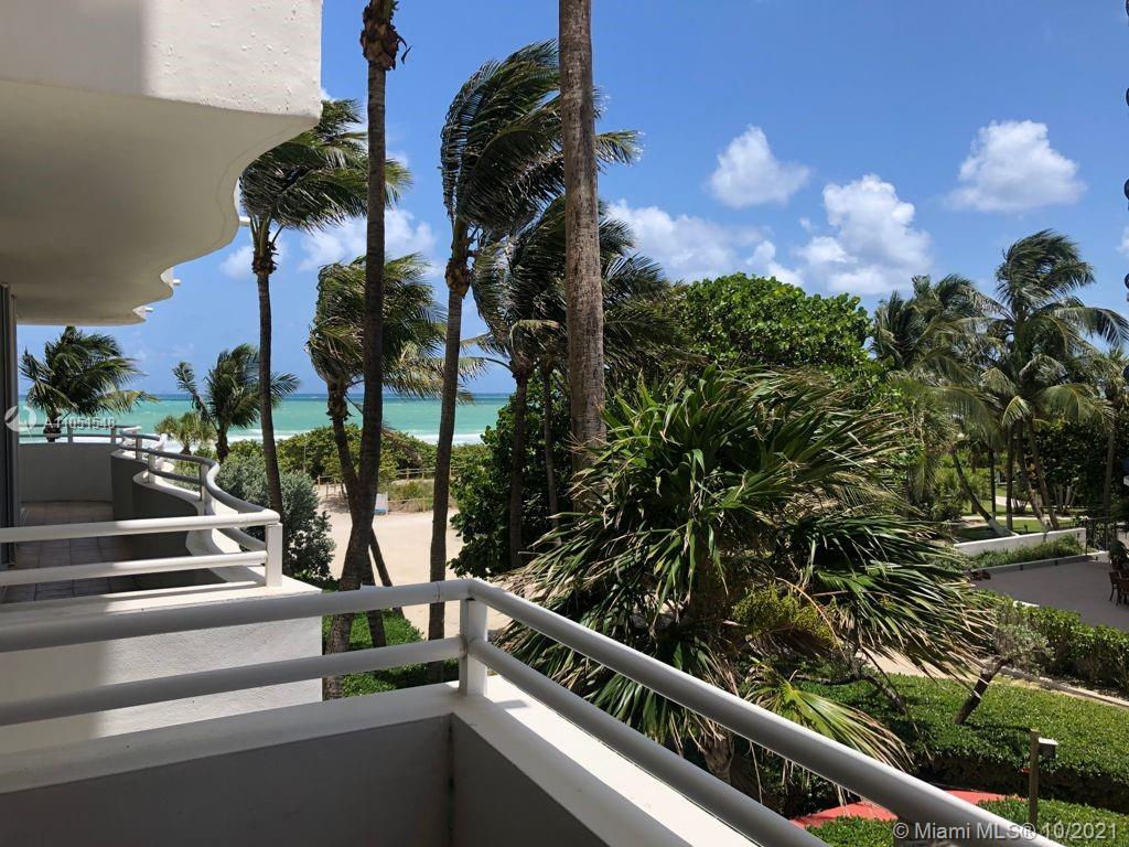 Right in the heart of Surfside! Directly on the sand and ocean, lovely open kitchen with ocean view