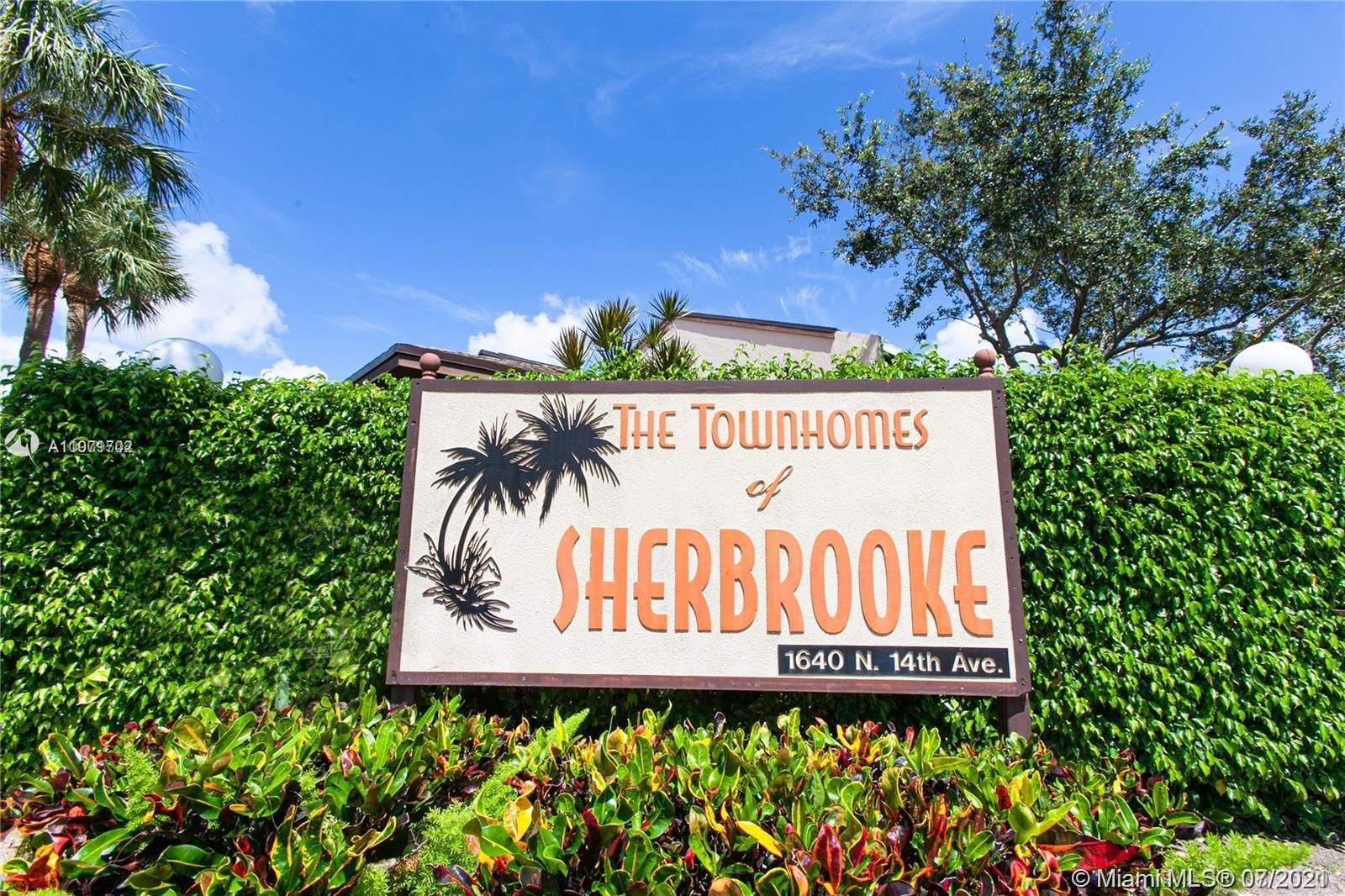 Spectacular location, minutes from Hollywood Beach! Sherbrooke Townhomes is a private gated communit