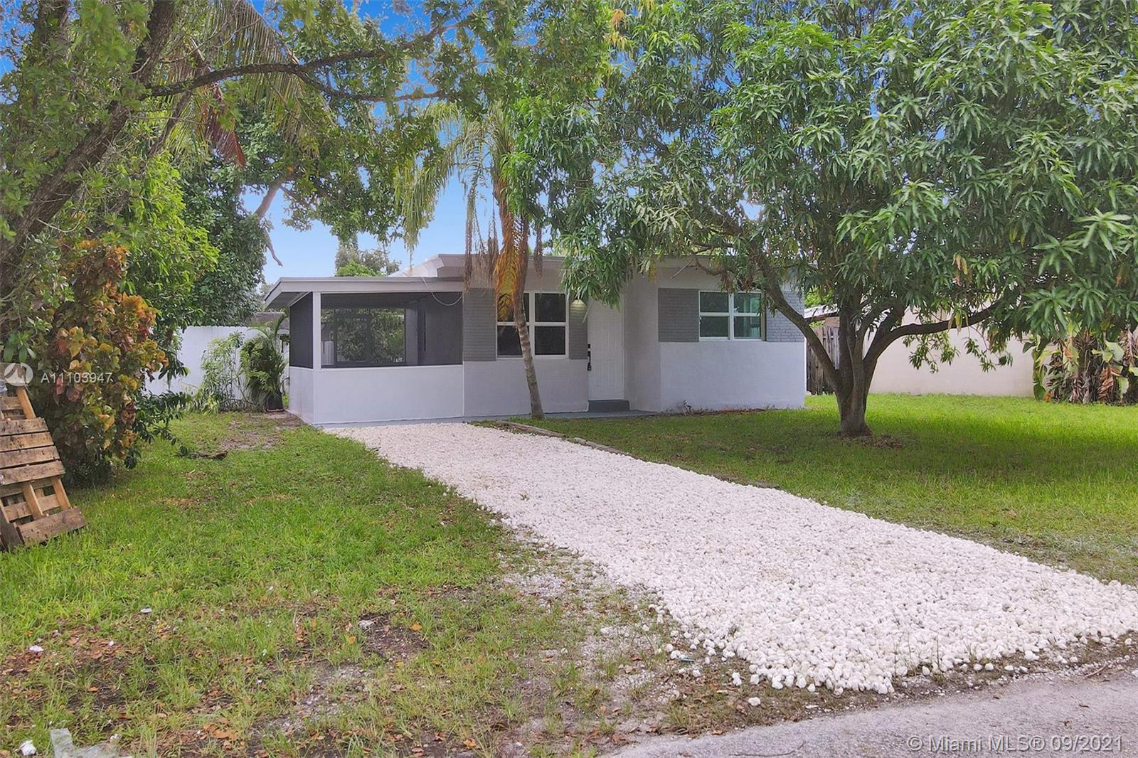 Remodeled 2 bedrooms and 1 full bath. Property features a screened in porch with full access to over