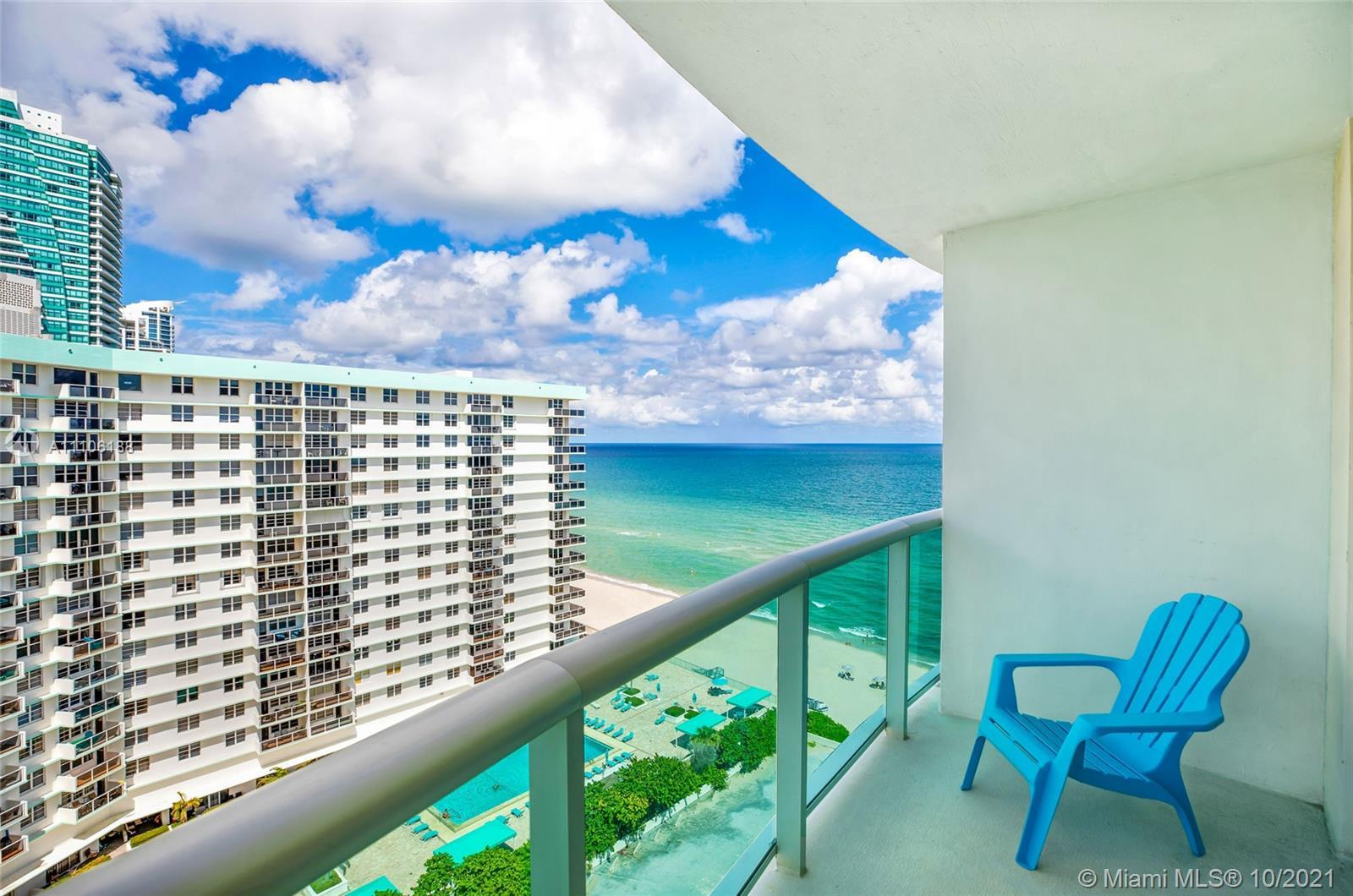 ** OPPORTUNITY KNOCKS! ** AMAZING 1BR/1BA OCEAN VIEW APT @ DESIRABLE THE TIDES ON HOLLYWOOD BEACH. L