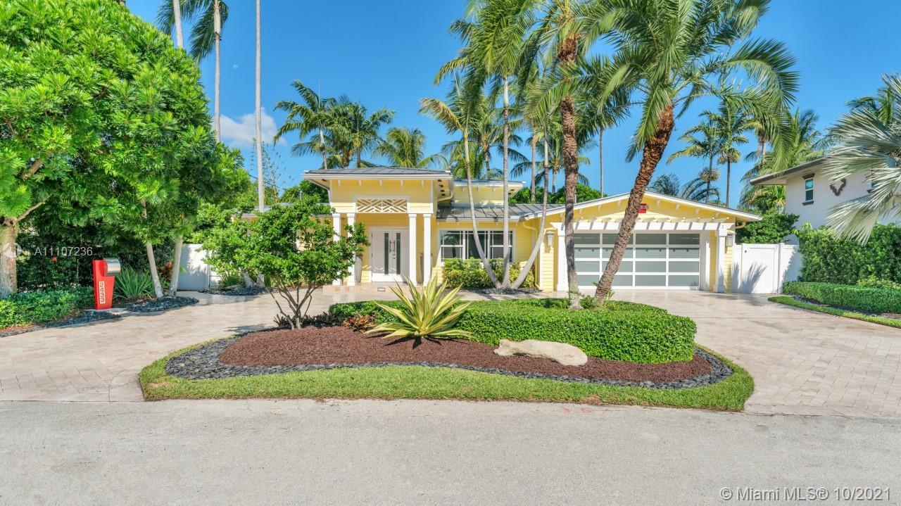 """This magnificent Key West Style home sits on the rare & coveted """"Lagoon"""" on the Middle River and pro"""