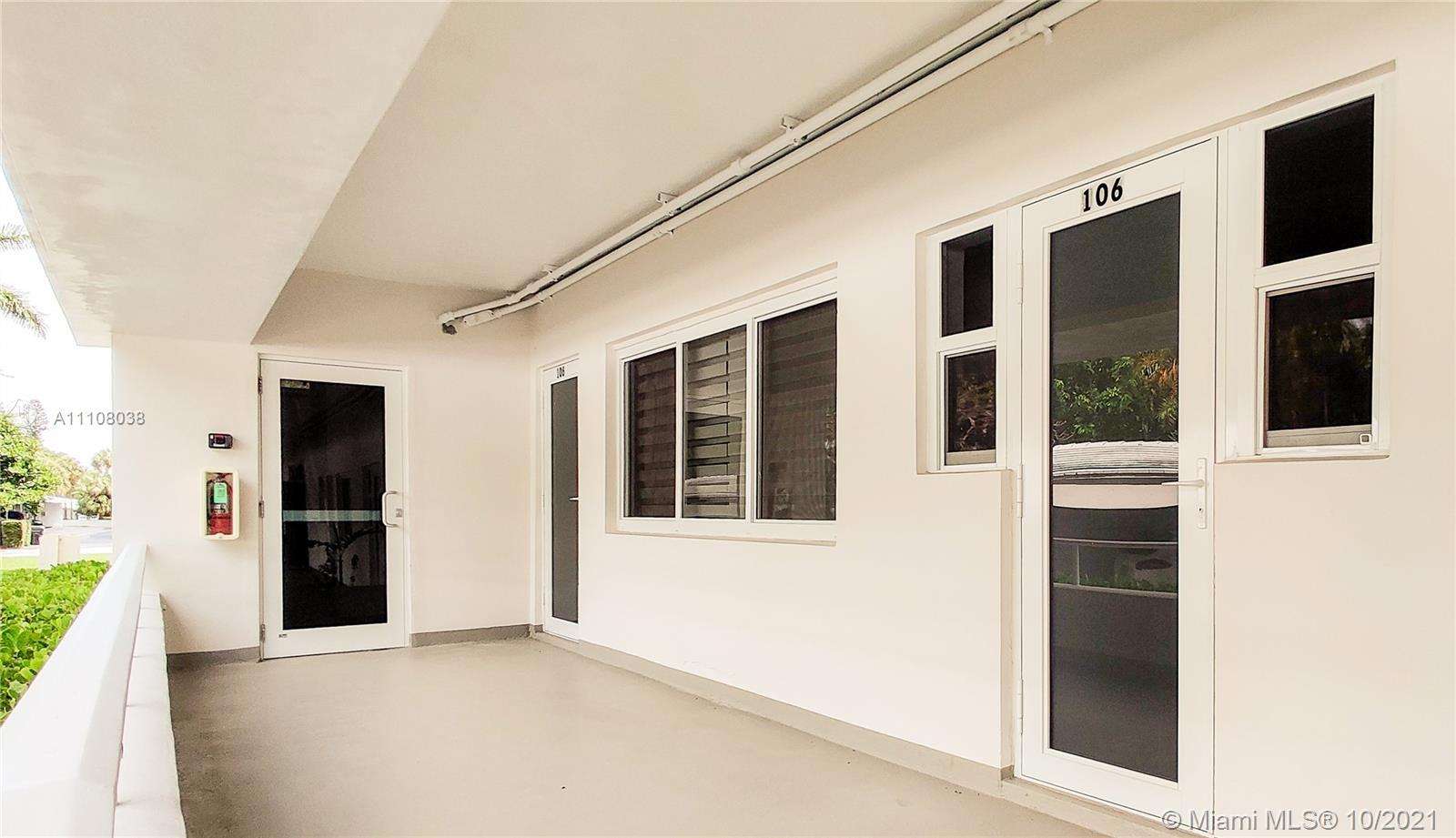 Perfect beach getaway in exclusive Bal Harbour! 2BD/2BA apartment is across the street from the ocea