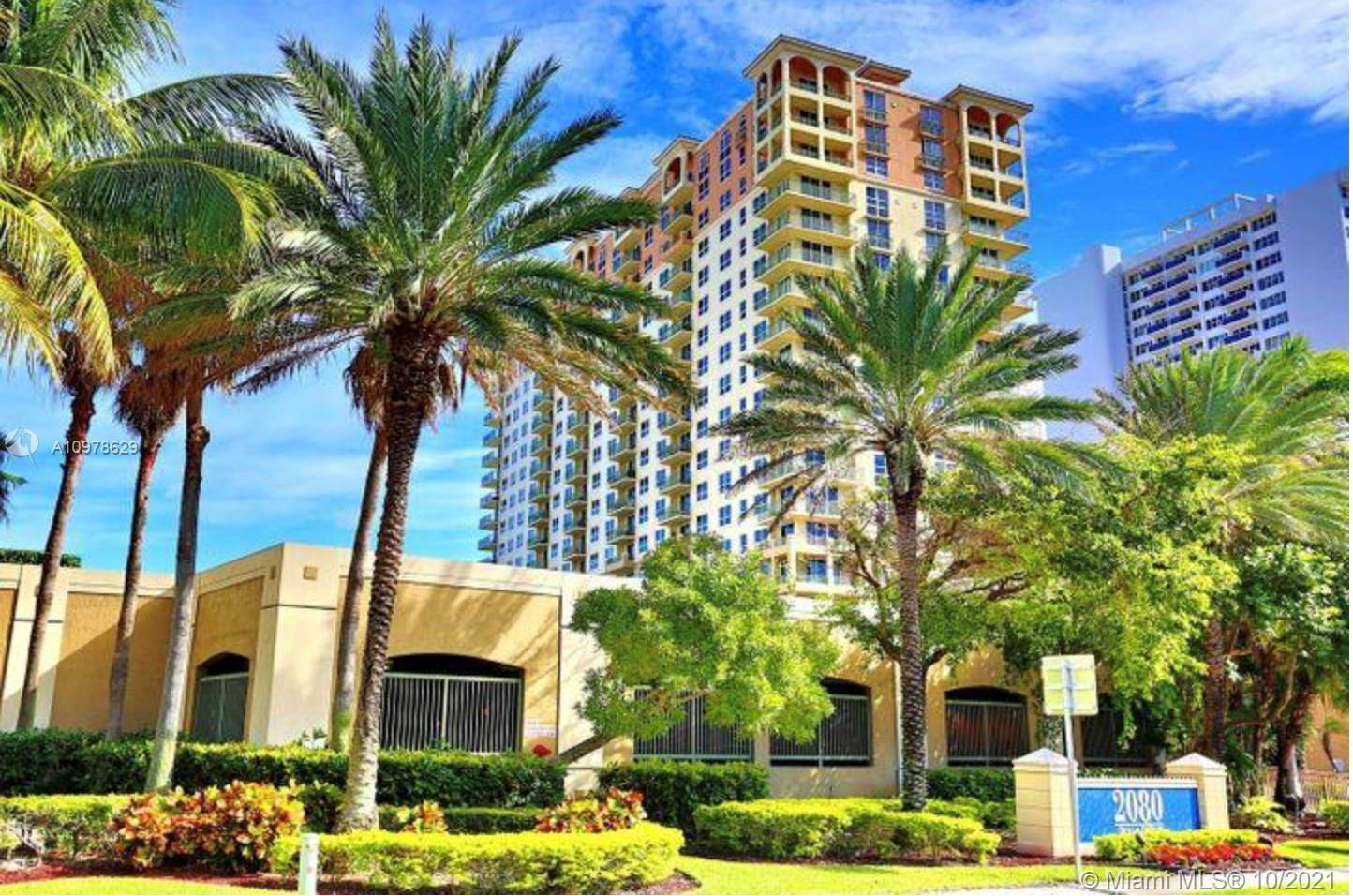 Exclusive beachfront 2/2 apartment on Hallandale Beach. Five-Star building with great amenities. New