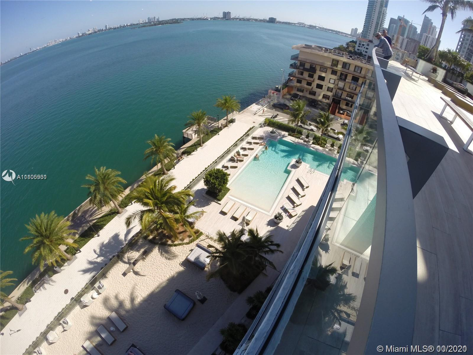 Enjoy unobstructed bay & Miami Beach views in this stunning residence in coveted Biscayne Beach. Ent