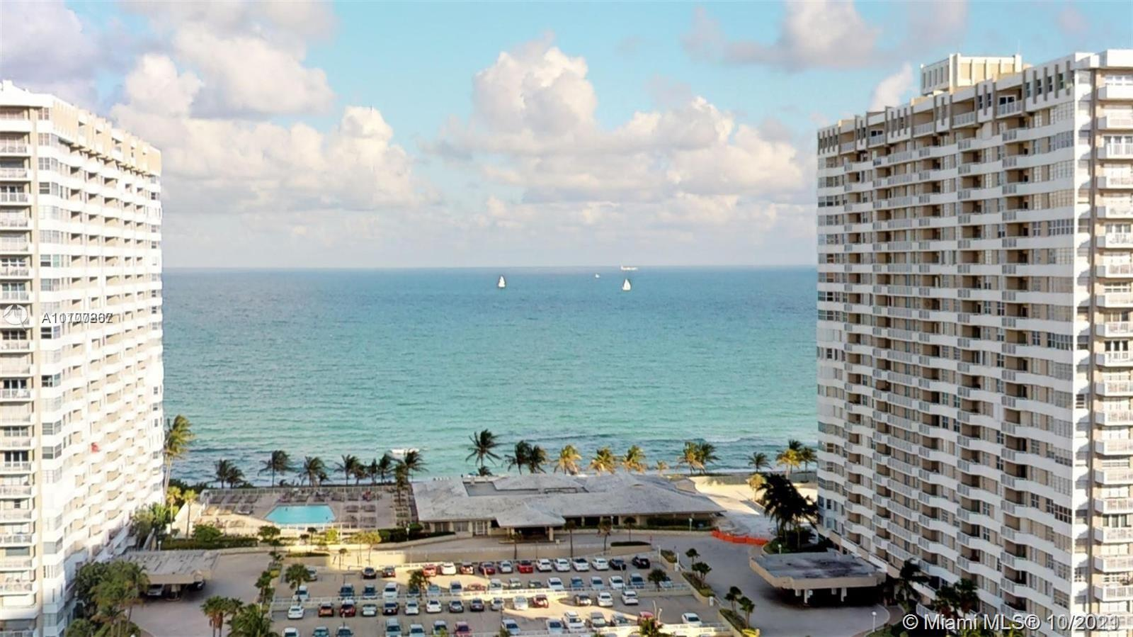 Oceanfront! New Impact windows and doors! Tastefully renovated 2bed/2 bath unit for low floor lovers