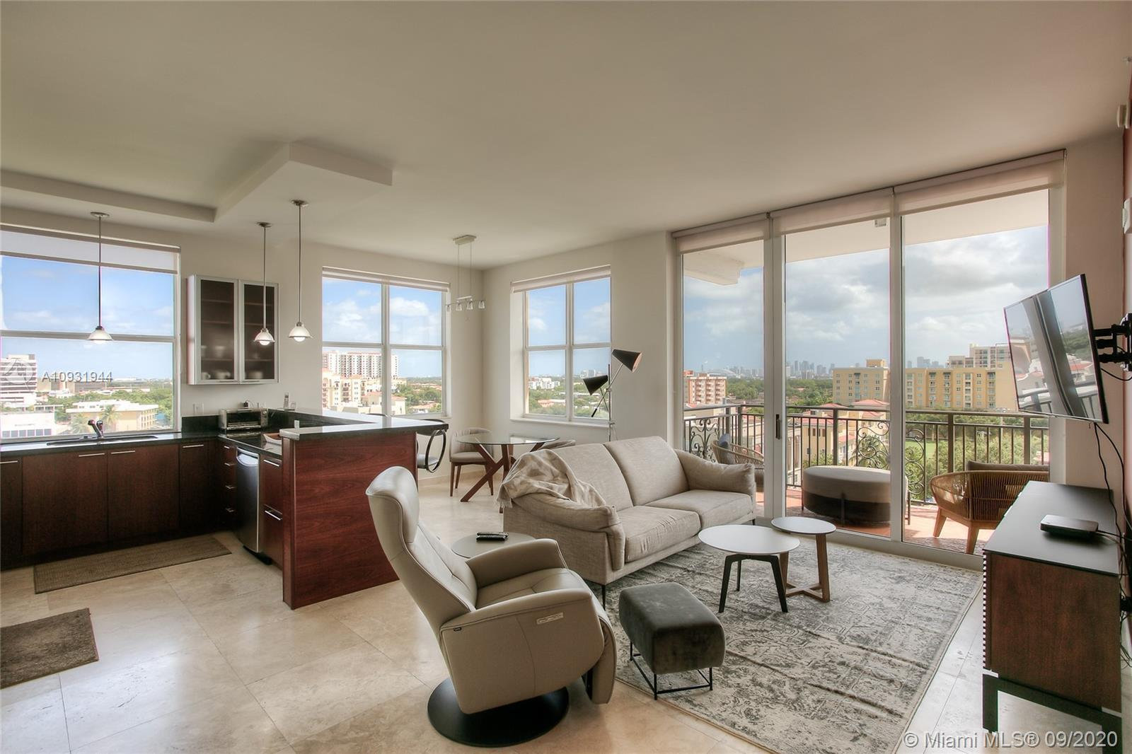 DEAL FELL THROUGH, BACK ON THE MARKET! Amazing views from this corner unit at The Ponce De Leon Con
