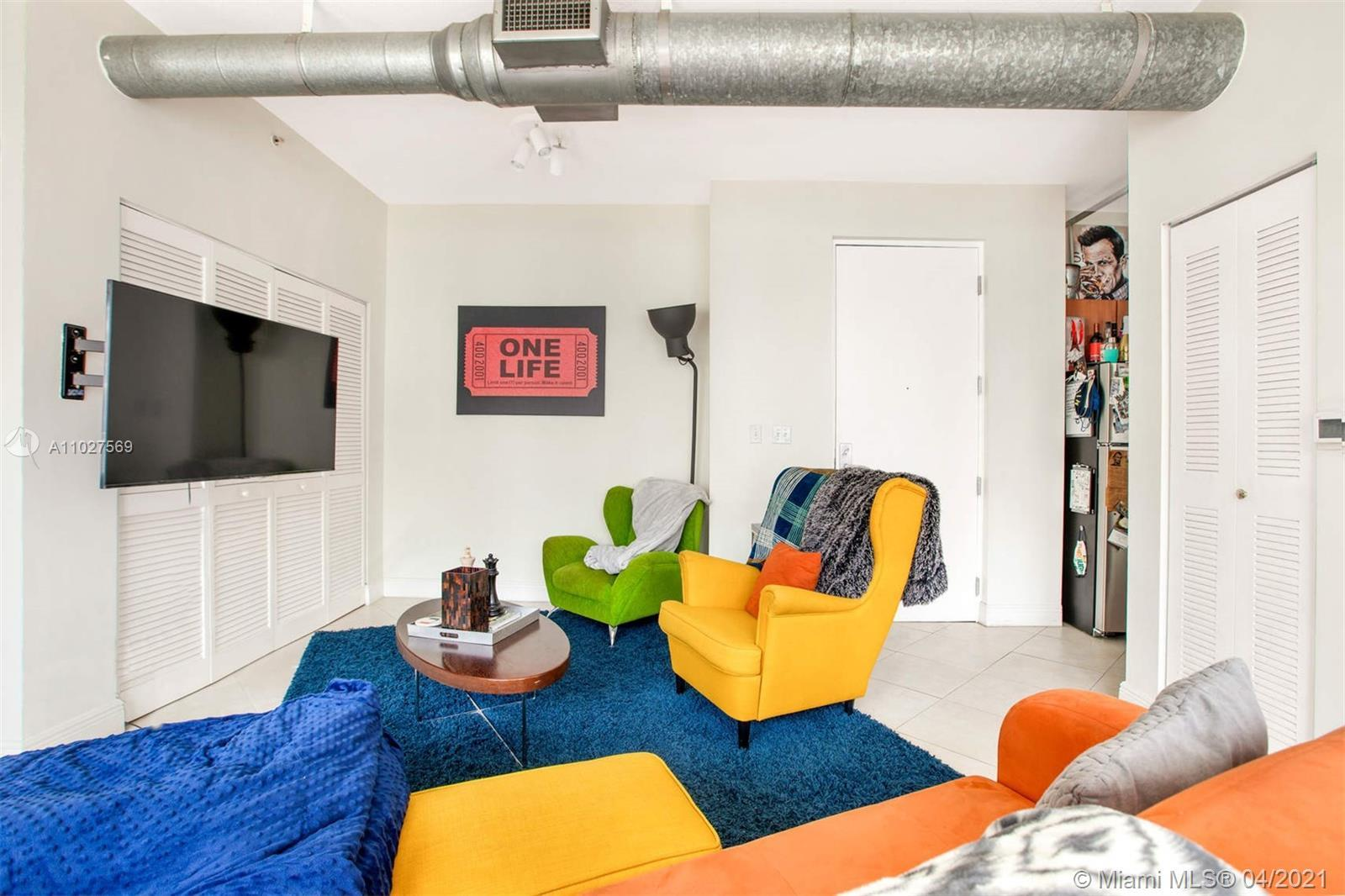 INDUSTRIAL LOFT STYLE APARTMENT IN TRENDY EDGEWATER. BOUTIQUE BUILDING WITH LOW MAINTENANCE PERFECT