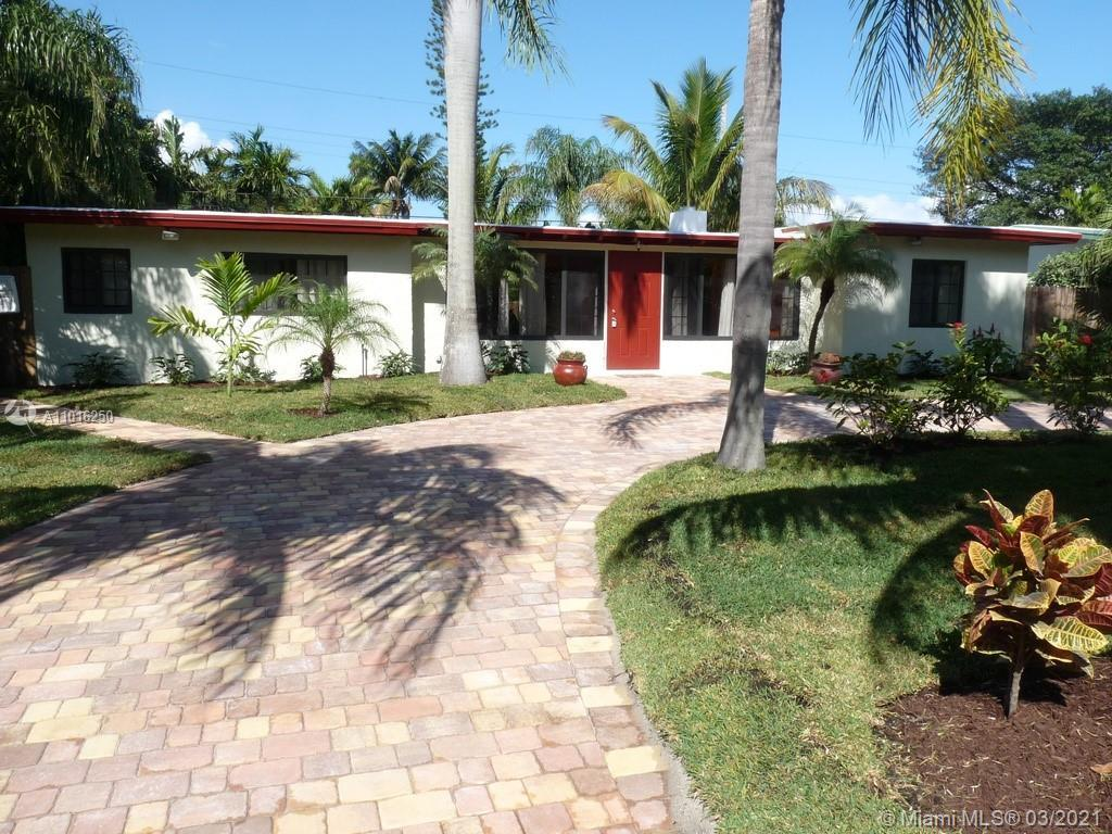 TROPICAL PARADISE!!! THIS BEAUTIFUL 3/2 POOL HOME LOCATED 3 BLOCKS FROM THE BEACH. THIS HOME HAS BEE