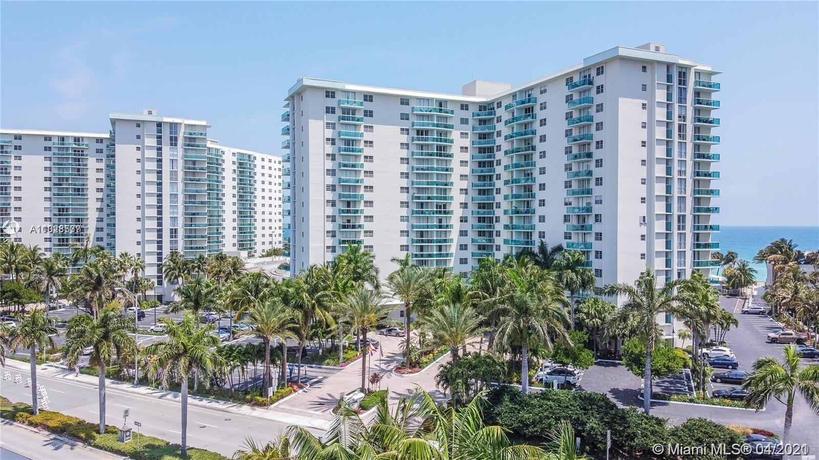 MOVE-IN READY STUNNING OCEAN VIEW, SHINE CERAMIC FLOOR THROUGHOUT, GLASS BALCONY, AMENITIES 2 POOL,