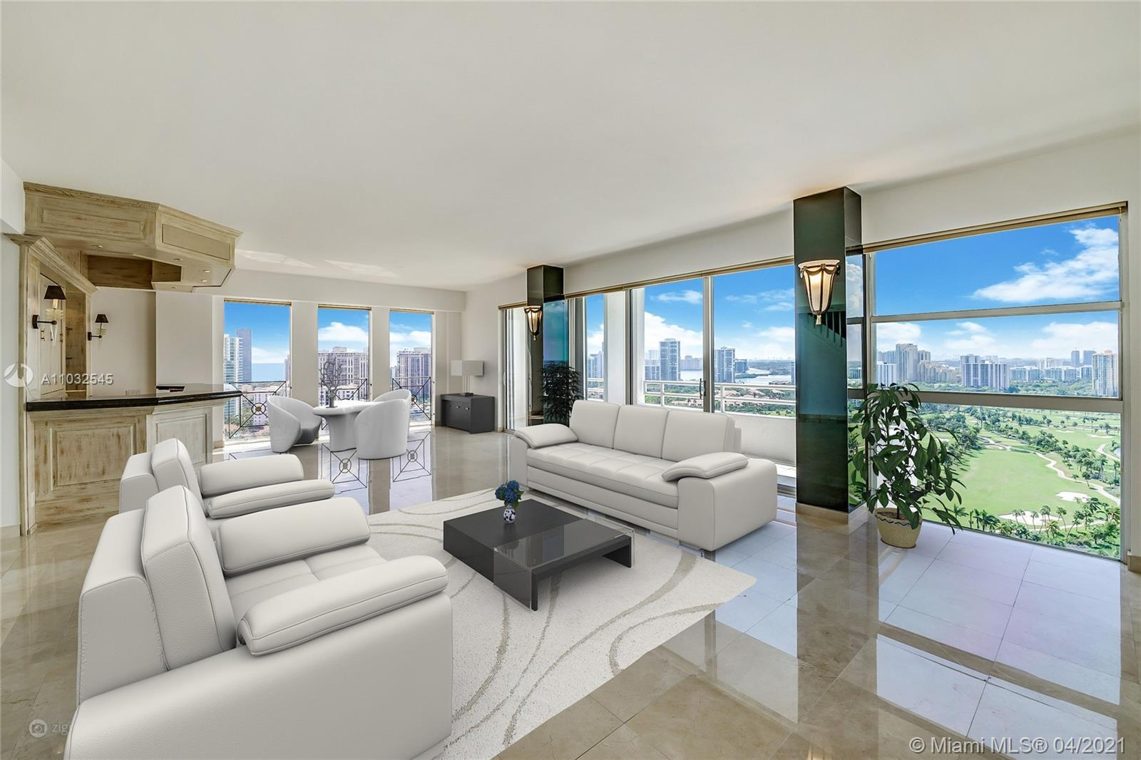 Penthouse – 27th Floor high -- One of a kind 5,500 SF - 5BR 3.5Ba - overlooking the Ocean, Inter-coa