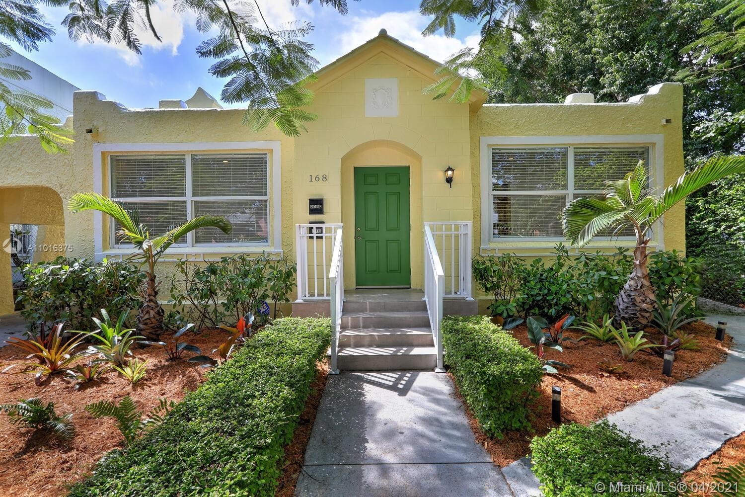 Gorgeous Art Deco Inspired Home from Old Spanish Era w/Modern Feel located in the trendy, up&coming