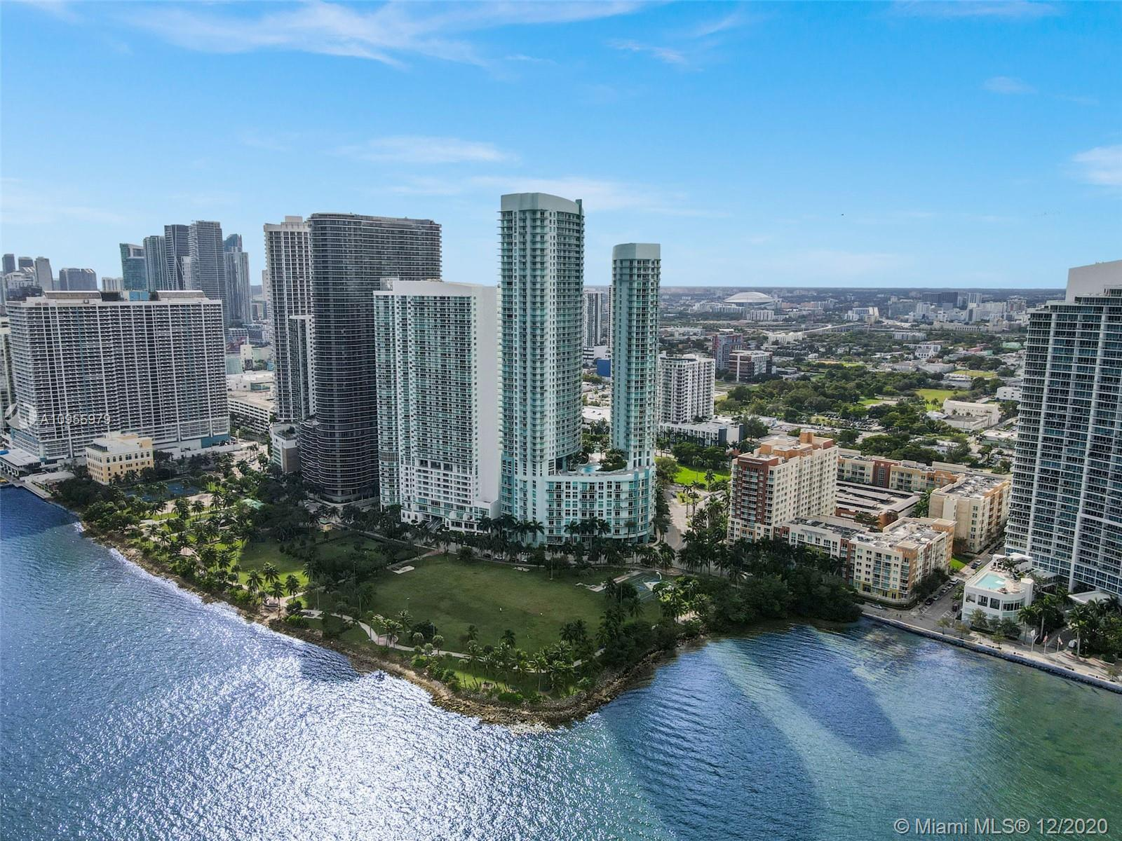 Best PH unit in Edgewater. Direct Bay views as far as the eye can see from this 50th floor PH. Almos
