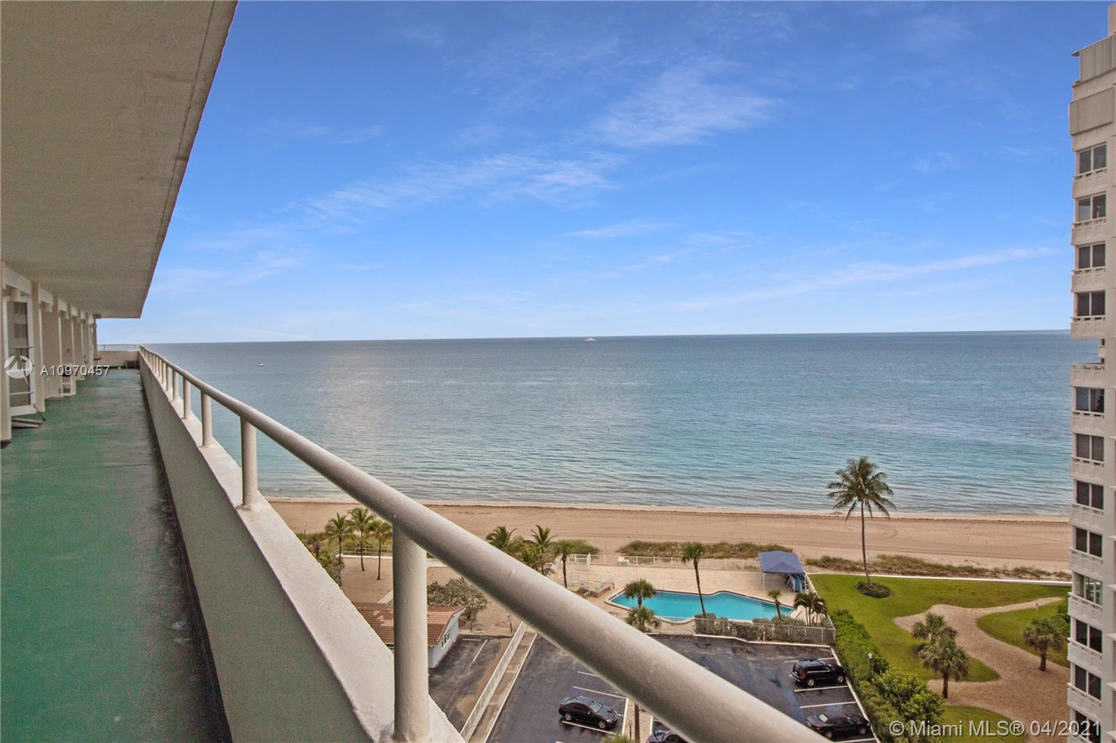 RENOVATED OPEN-LAYOUT OCEAN FRONT CONDO WITH AMAZING VIEWS. IMPACT WINDOWS/DOORS.  WITHIN WALKING DI